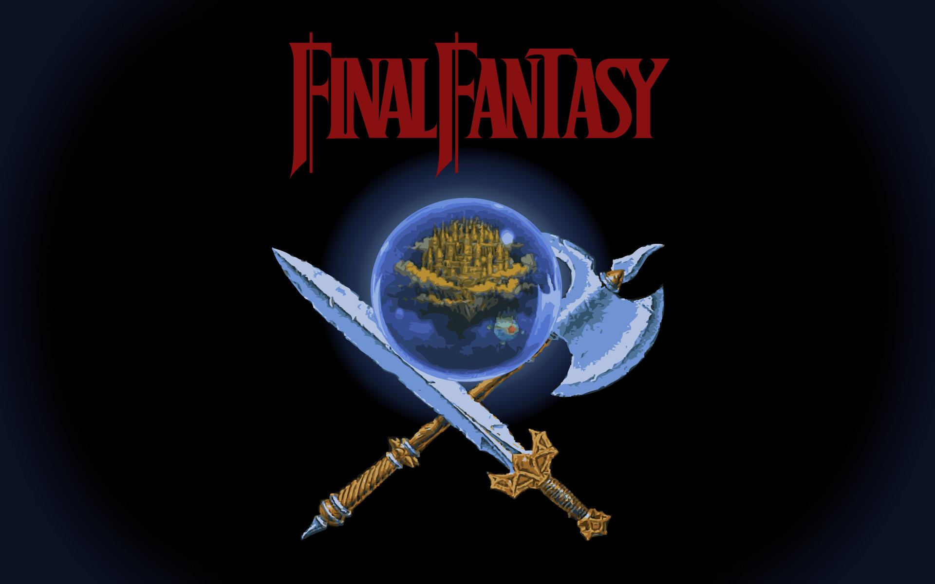 Final Fantasy 1 Nes Wallpaper