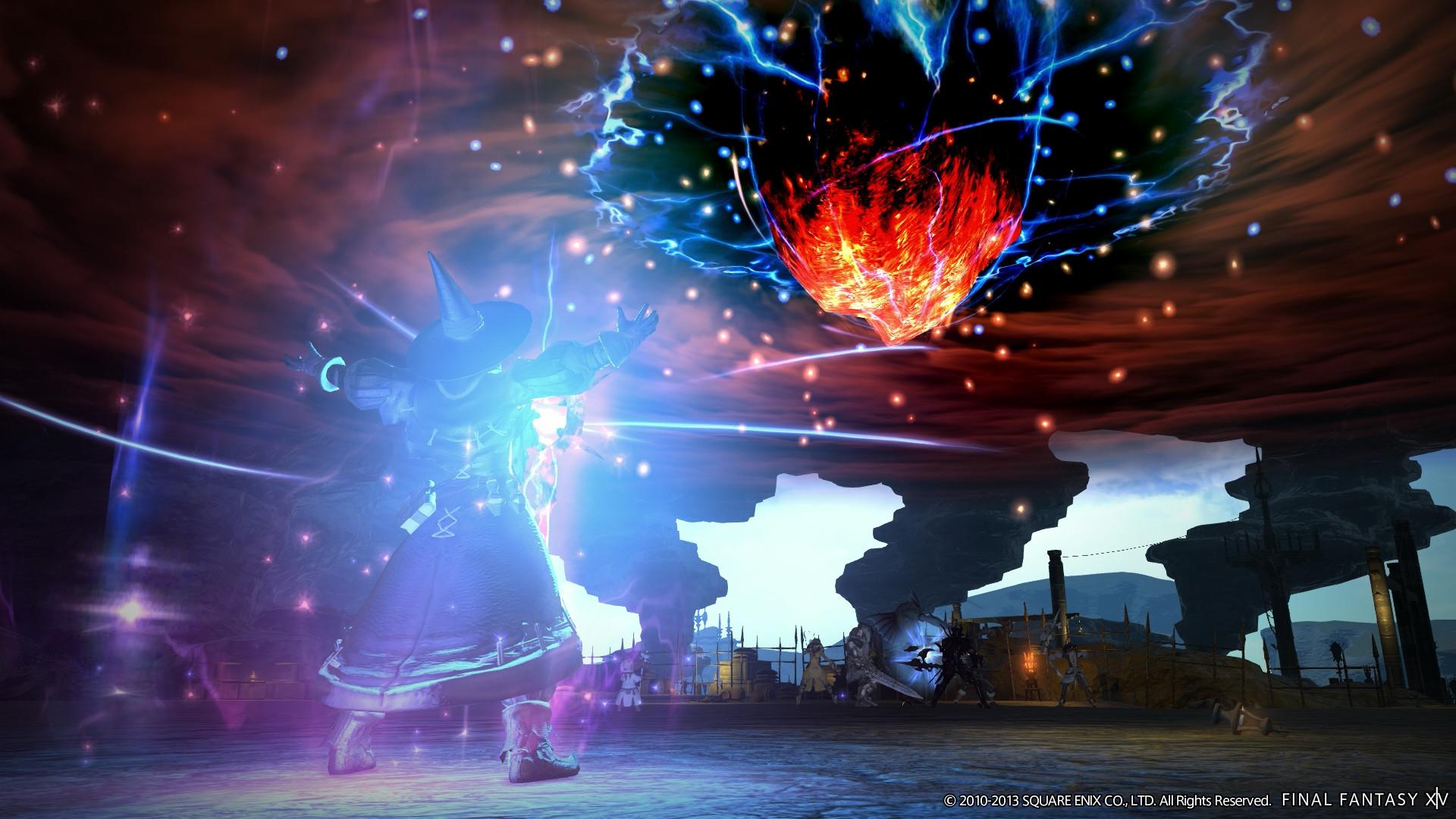 Image – Black Mage Limit Break Meteor XIV.jpg | Final Fantasy Wiki | FANDOM  powered by Wikia