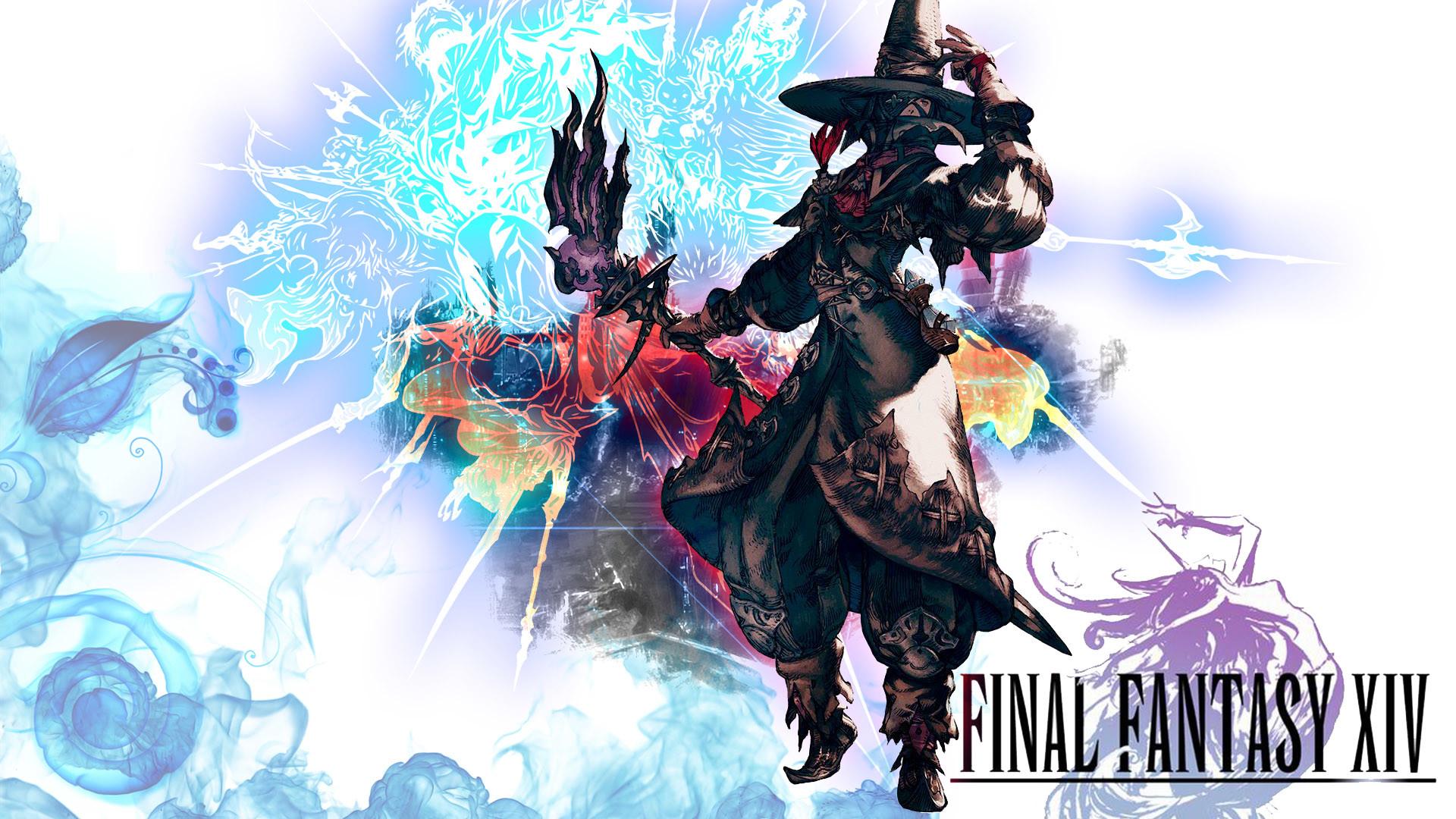 Final Fantasy XIV Wallpaper by MajinKhaN Final Fantasy XIV Wallpaper by  MajinKhaN