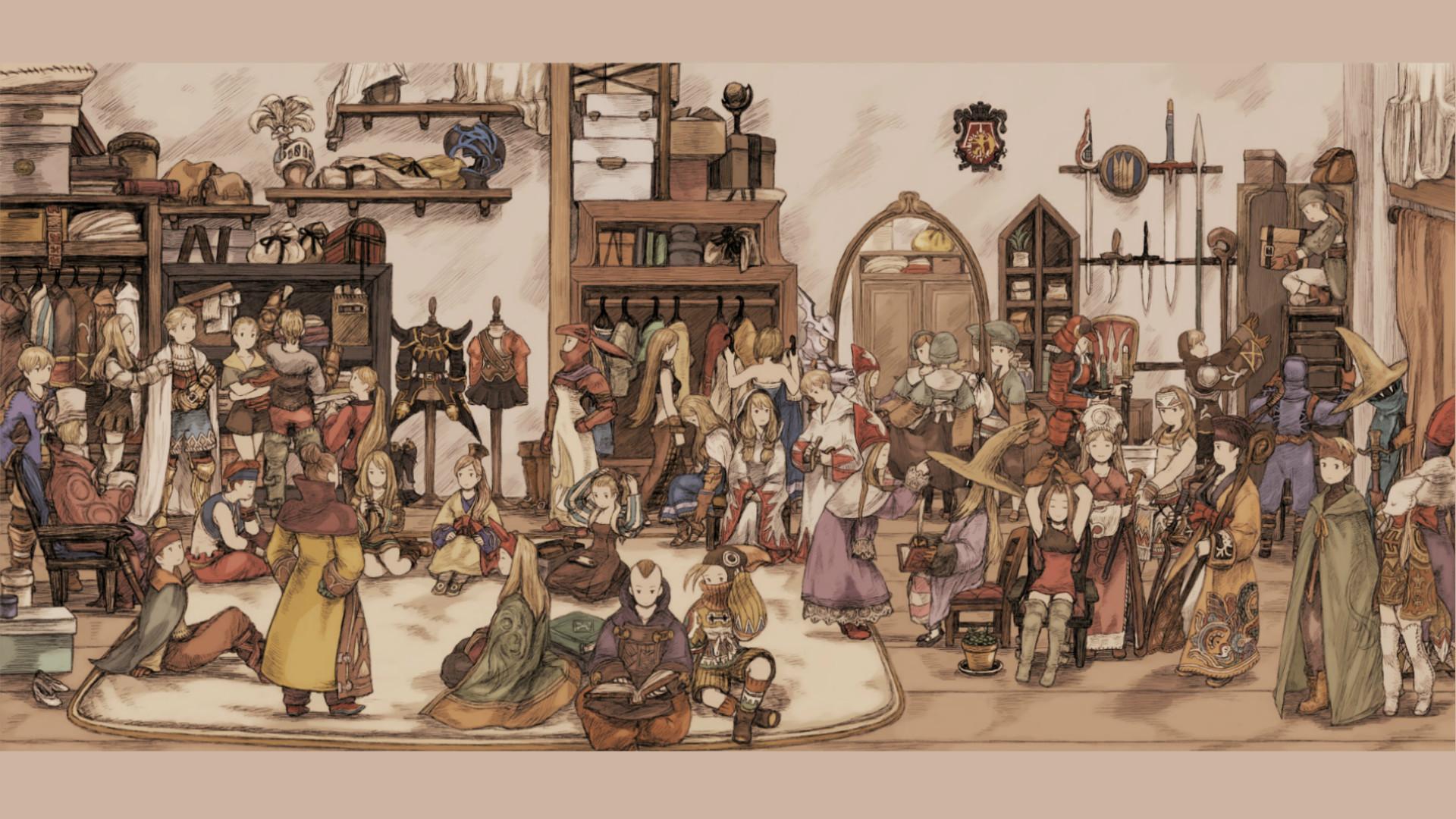 Anime Final Fantasy Tactics Final Fantasy Delita Ramza Agrias Job  System White Mage Black Mage