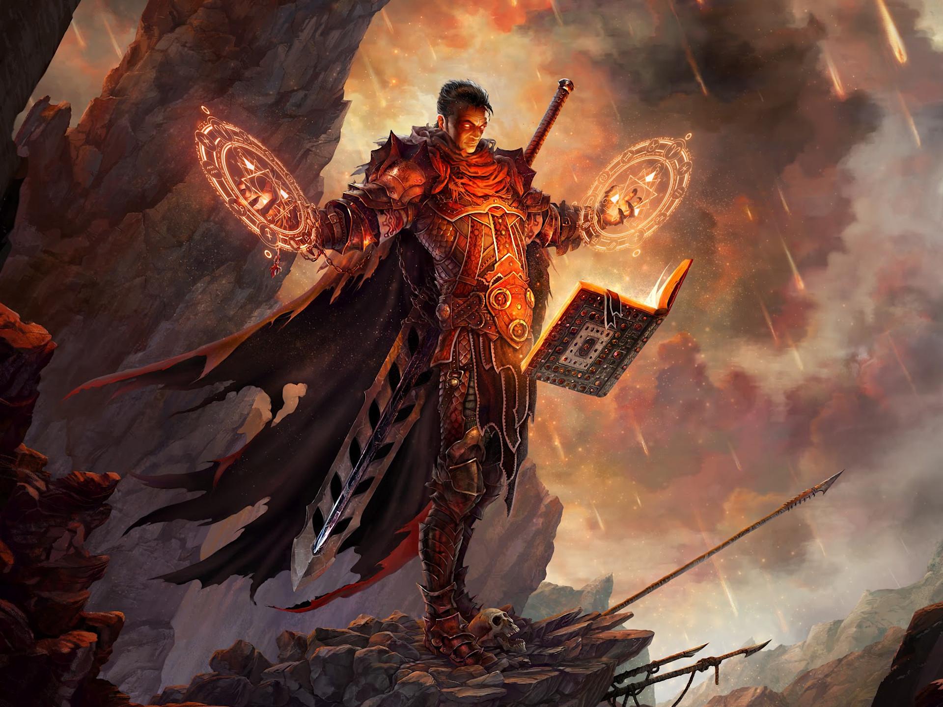 Mage Fantasy Art Books Artwork Realistic Swords Fresh New Hd Wallpaper  [Your Popular HD Wallpaper] (shared via SlingPic)