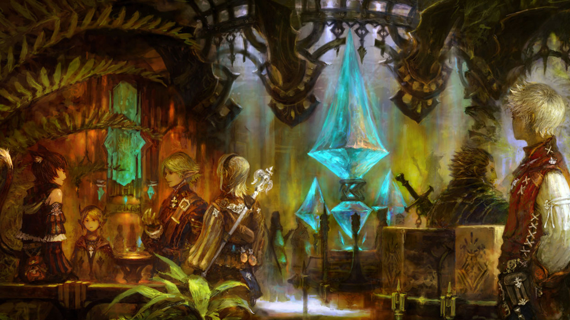 fantasy art | Final fantasy art concept wallpapers wallpaper Fantasy HD  Wallpaper .