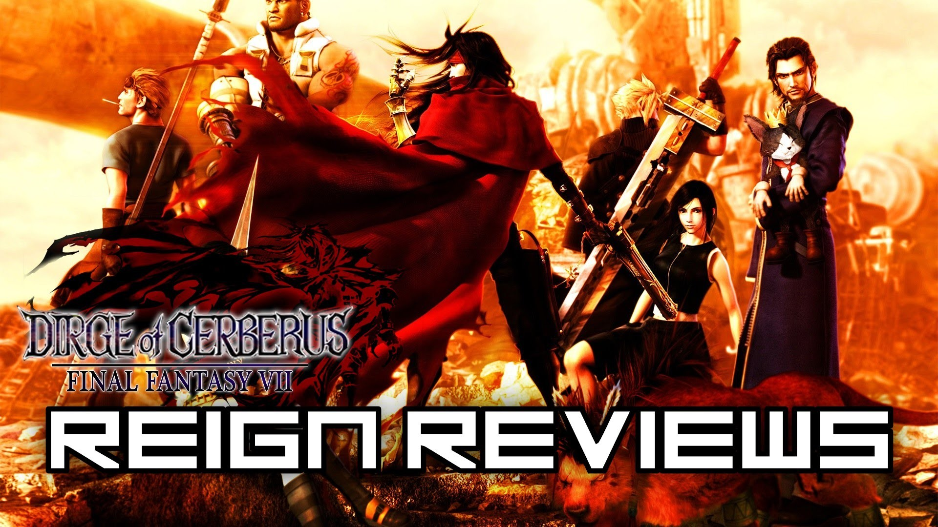 Reign Reviews – Dirge of Cerberus: Final Fantasy VII [Game Review] – YouTube