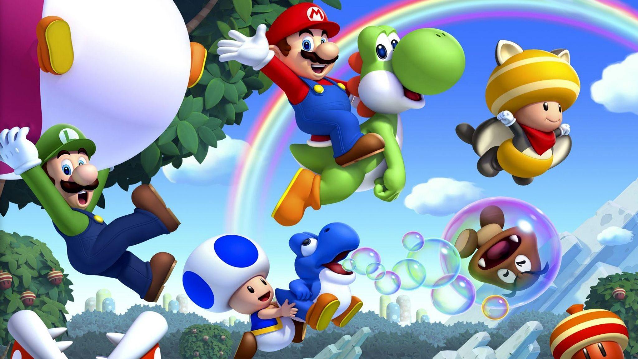 Download Wallpaper Super mario, Nintendo, Wii u, Mario .