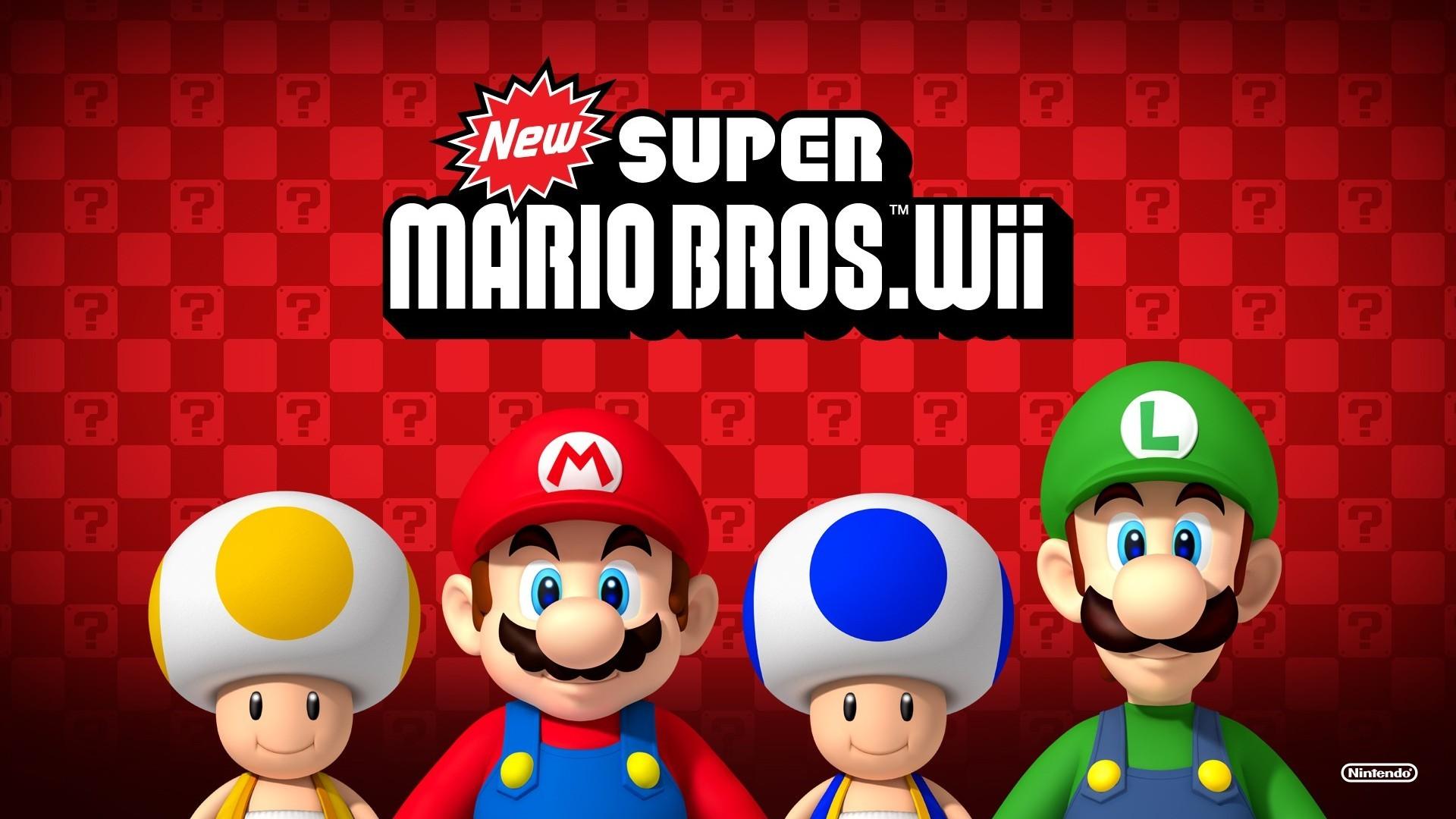 Video Game – New Super Mario Bros. Wii Super Mario Video Game Mario  Wallpaper