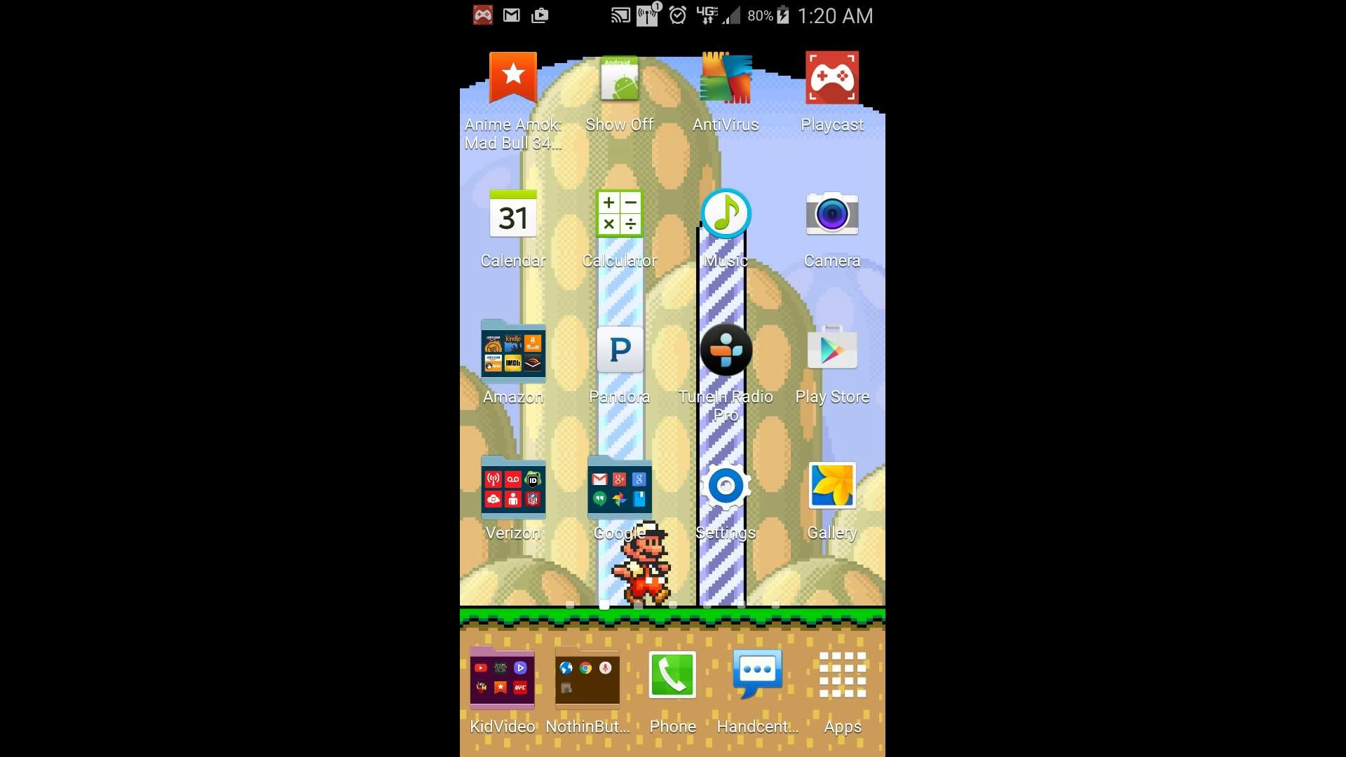 Mario Live Wallpaper Andriod — Link in the descr
