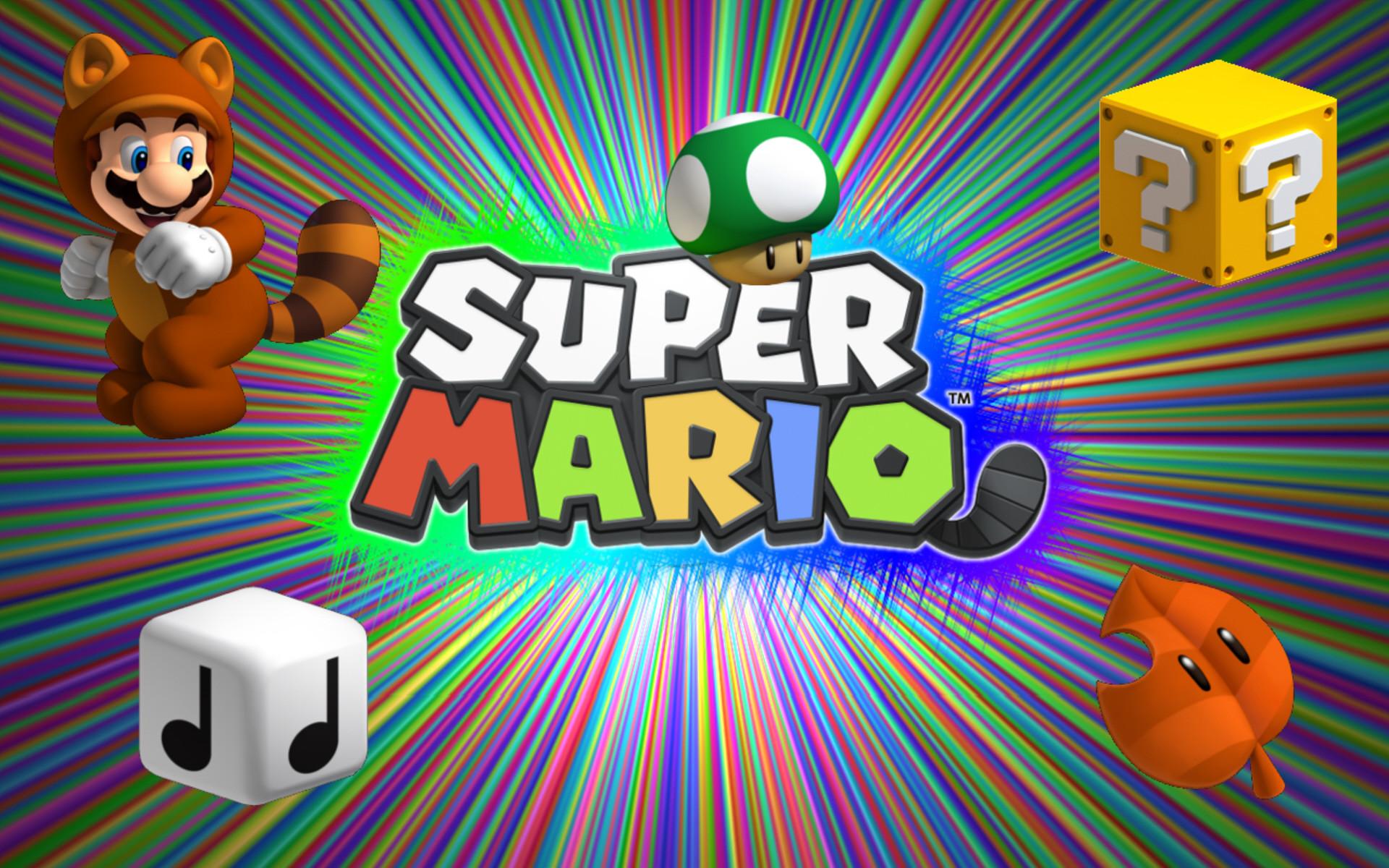 Super Mario Bros HD desktop wallpaper Widescreen High
