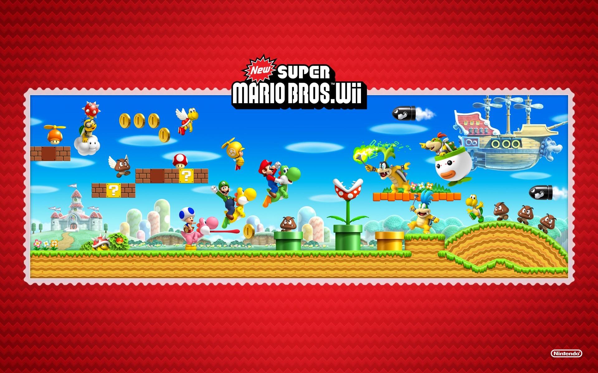 windows wallpaper New Super Mario Bros Wii by Waverley Thomas (2016-05-25