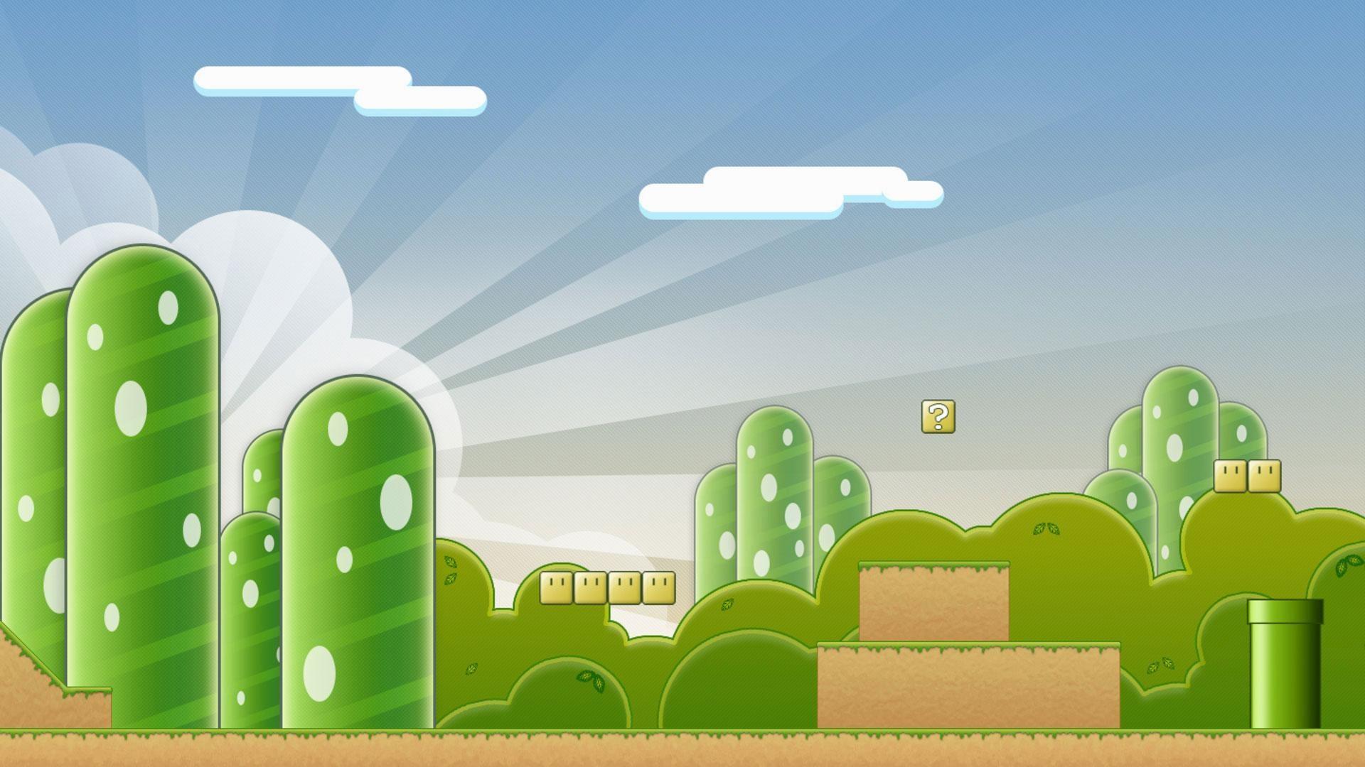 Super-Mario-Template-Wallpaper