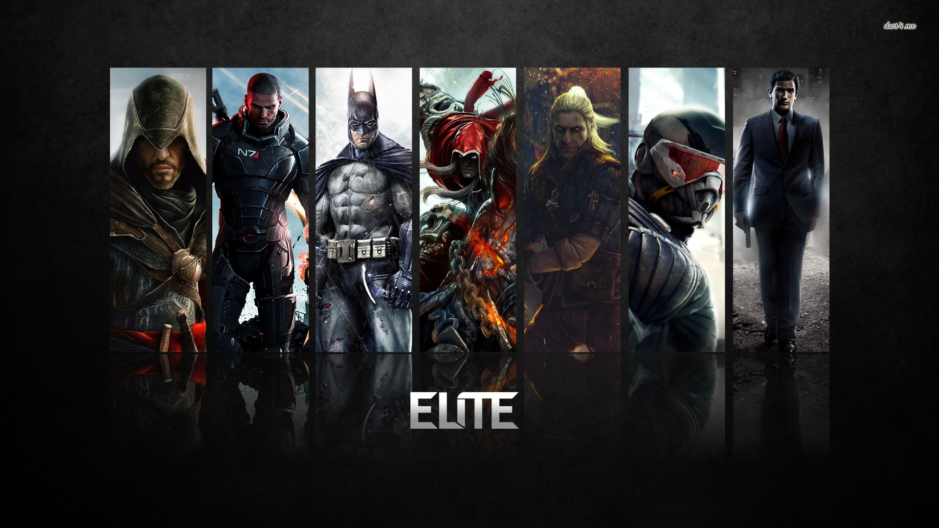 Elite video game characters wallpaper – Game wallpapers – #48790
