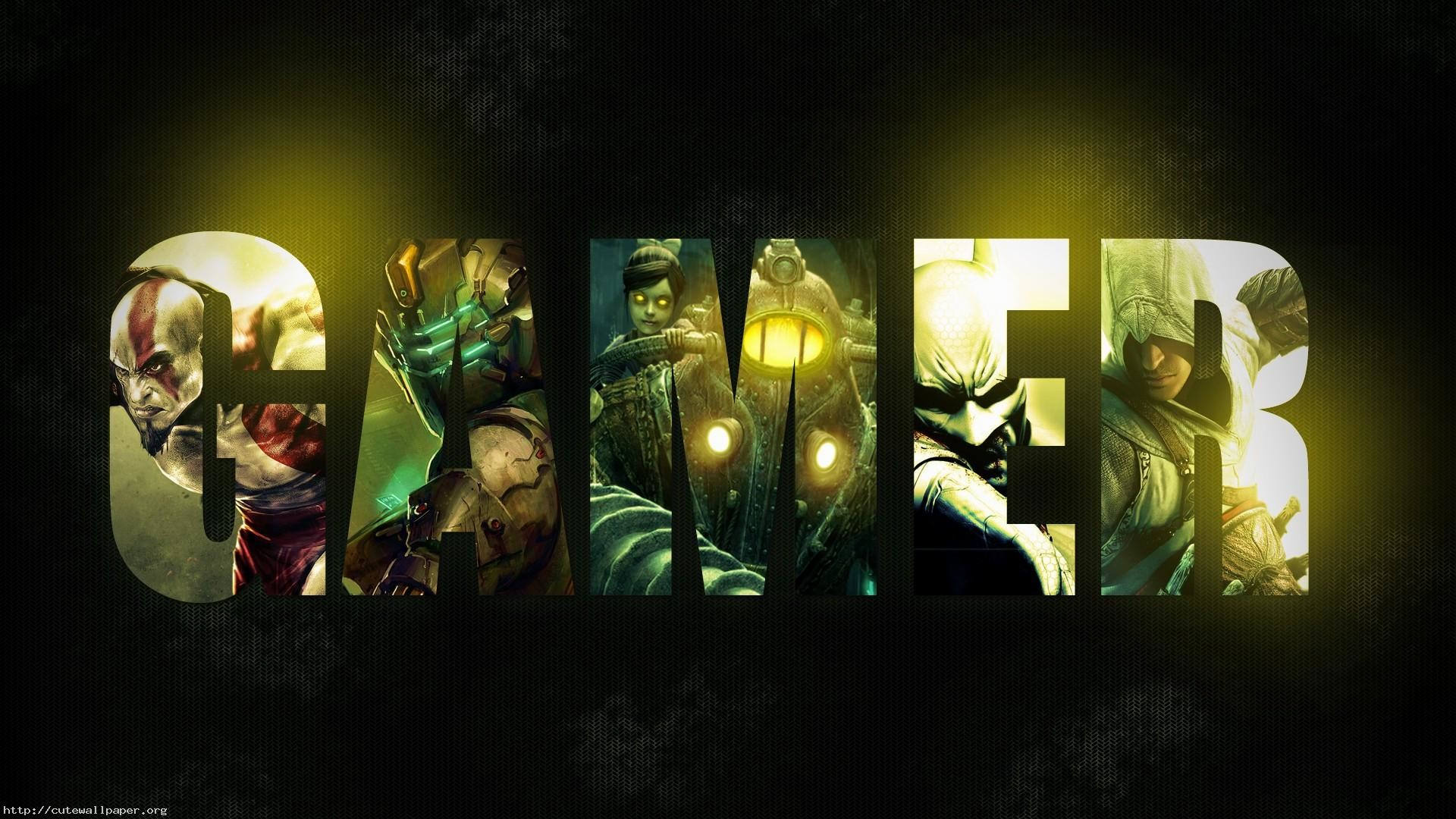 Bioshock god-of-war assassin's-creed dead-space video-games games collages  wallpaper