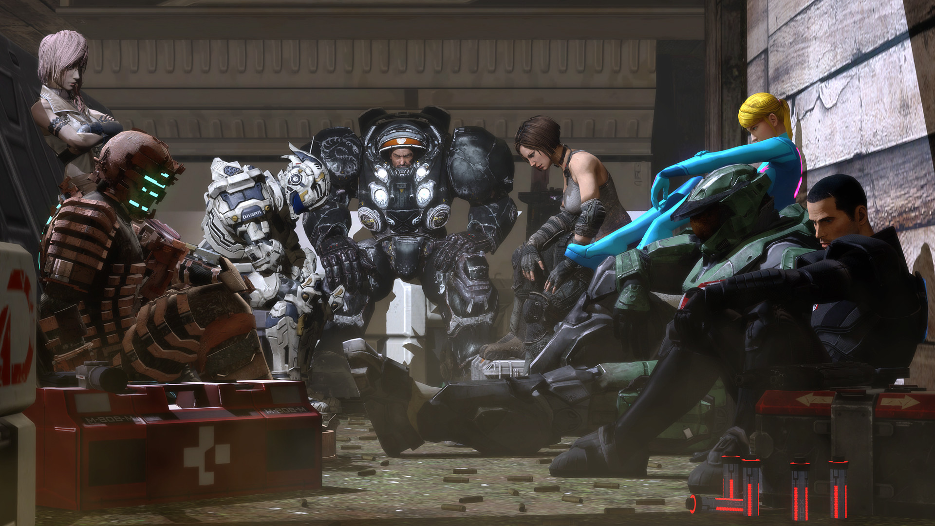 Video Gaming's A-Team Brings Samus, Shepard, Master Chief And Jim Raynor  Together