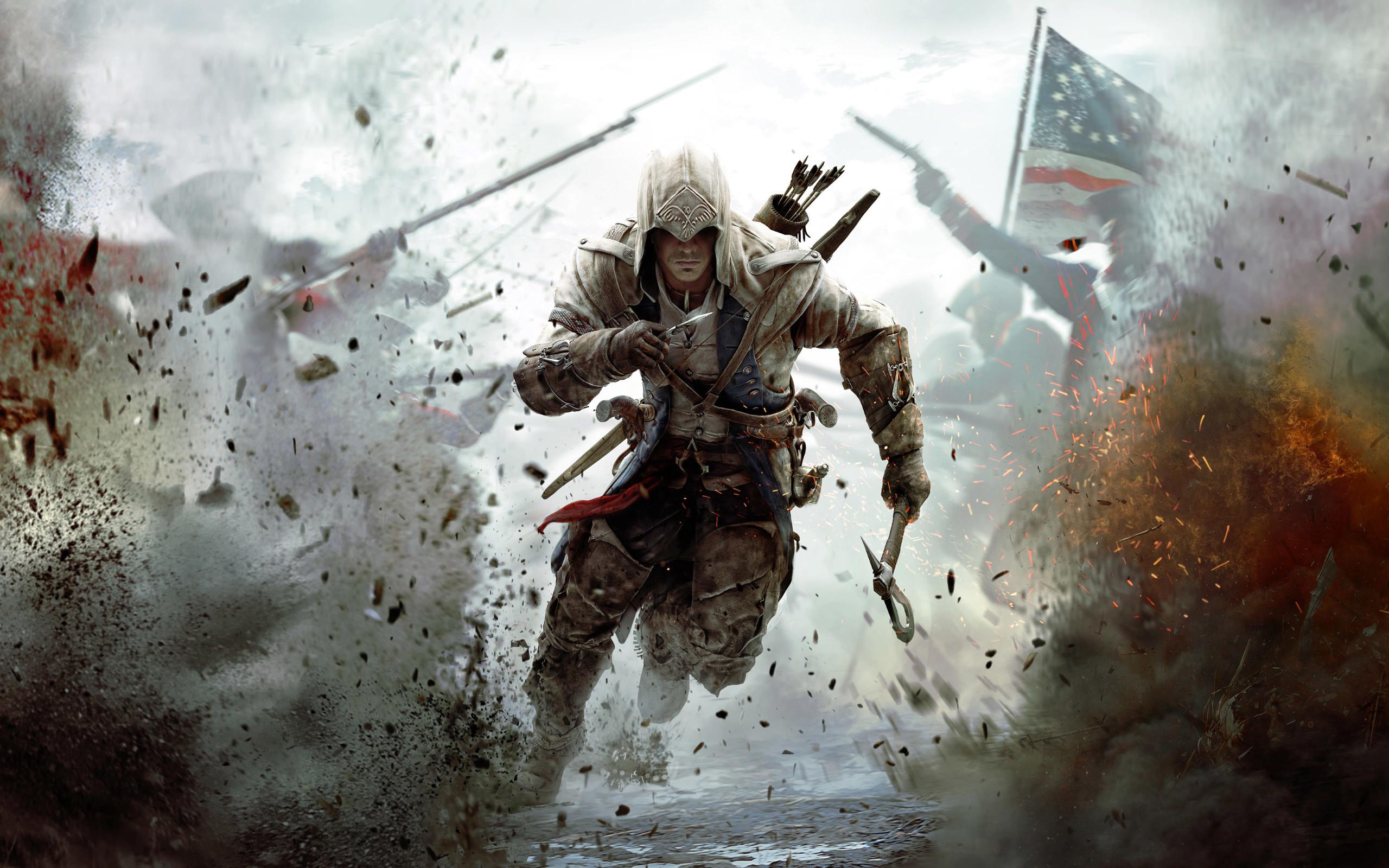 Assassins Creed 3 Game Wallpaper