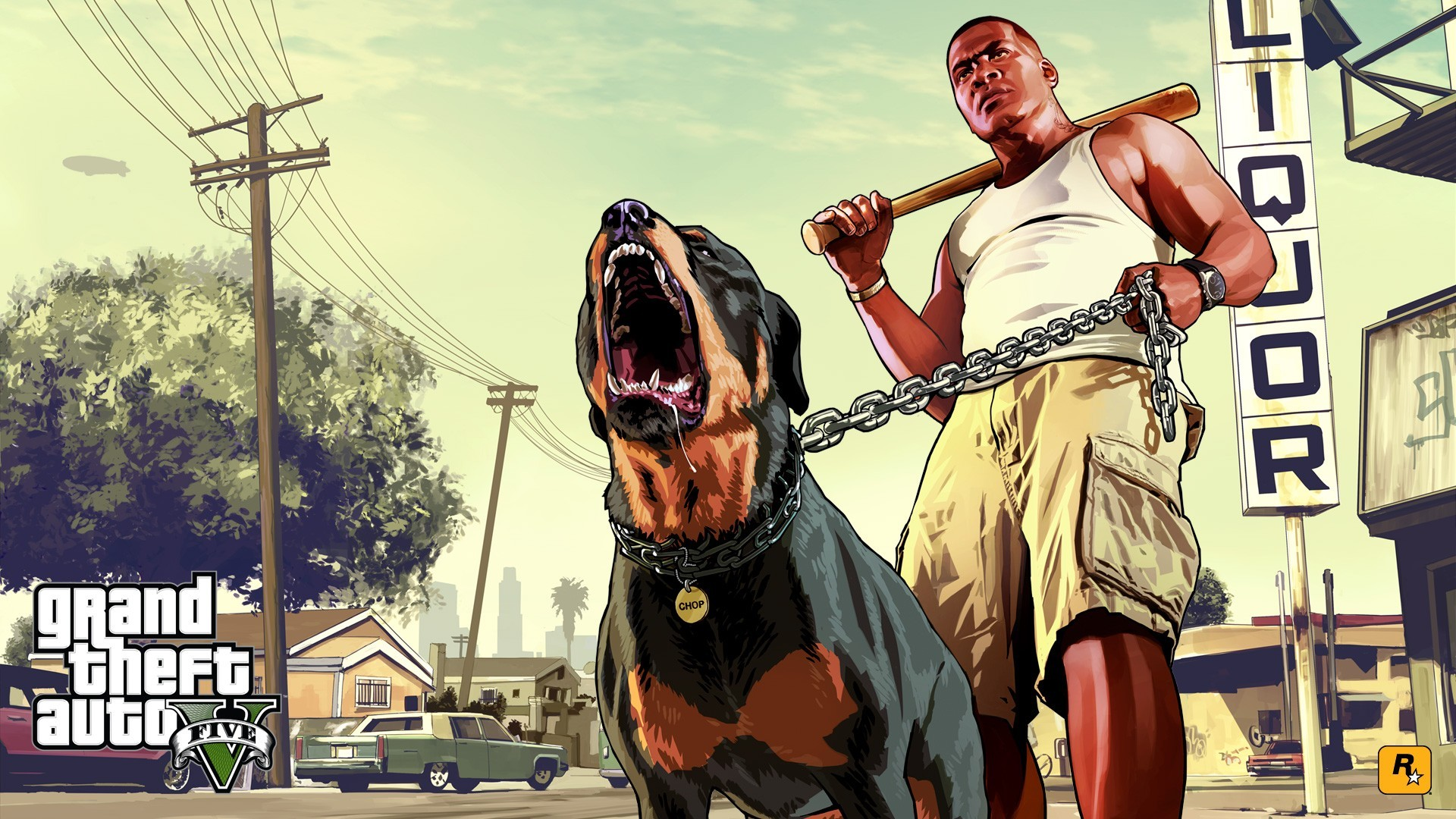 Grand Theft Auto V, Rockstar Games, Video Game Characters, Rottweiler