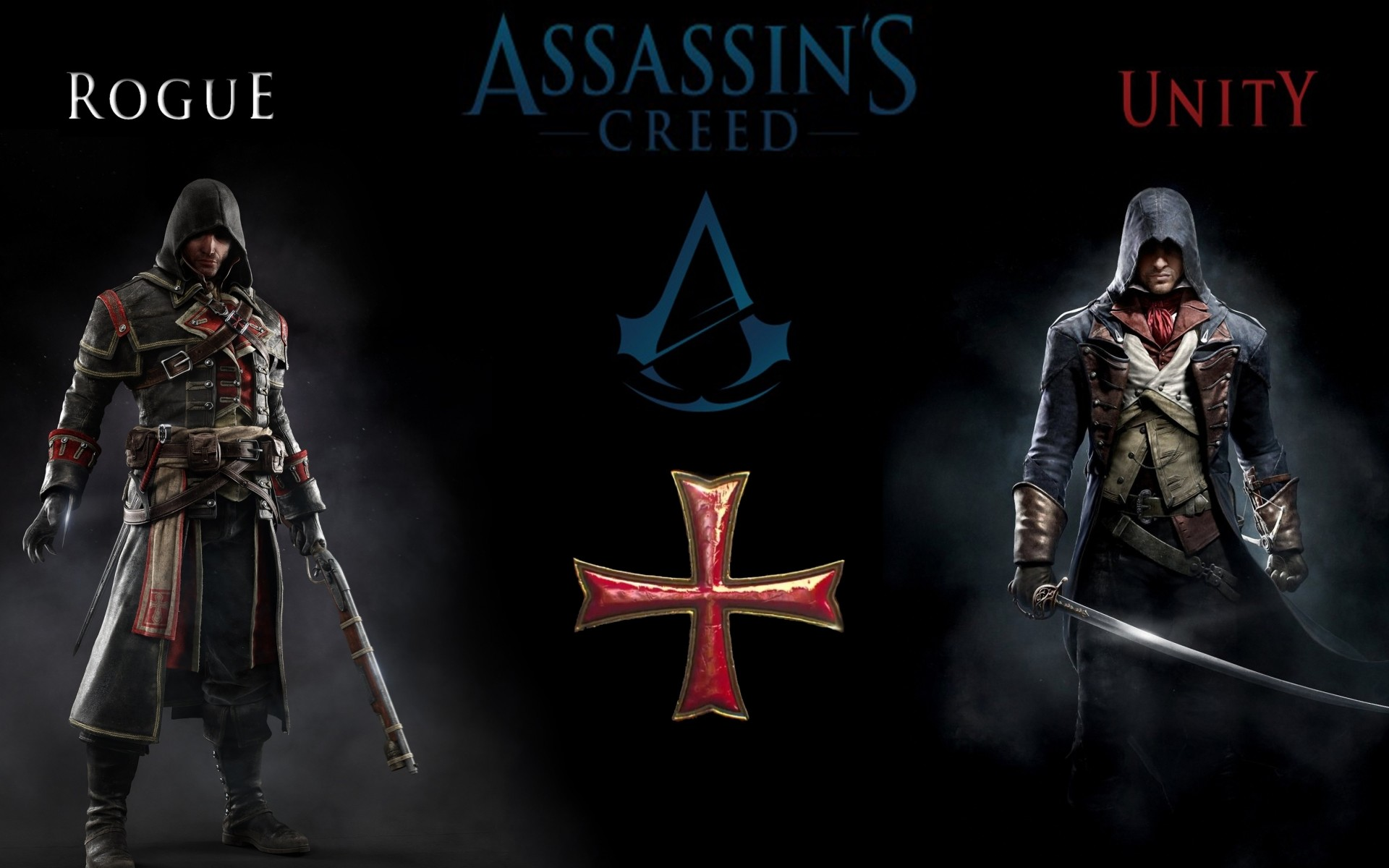 Wallpaper 1080p Assassin's Creed Unity Rogue Video Game HD wallpaper .