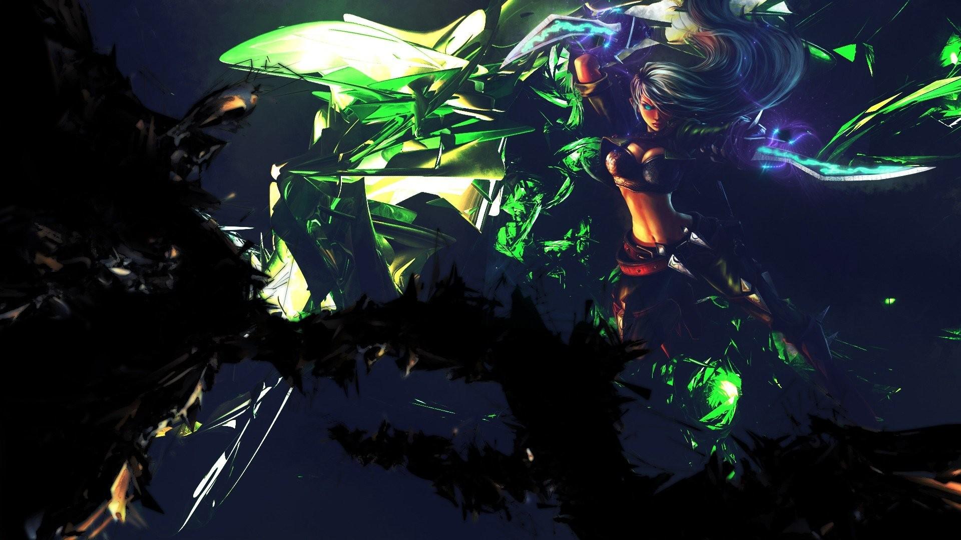 Abstract video games League of Legends Mercenary Katarina Game characters  wallpaper     288833   WallpaperUP