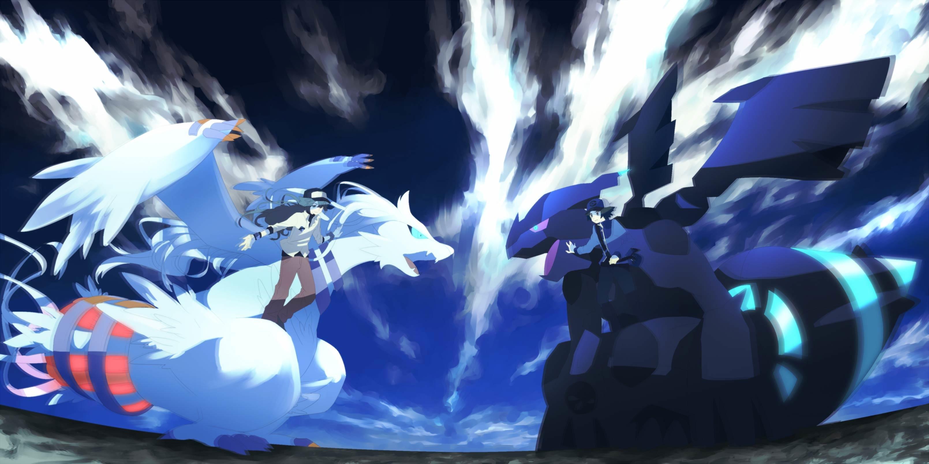 Epic Pokemon Widescreen Wallpaper