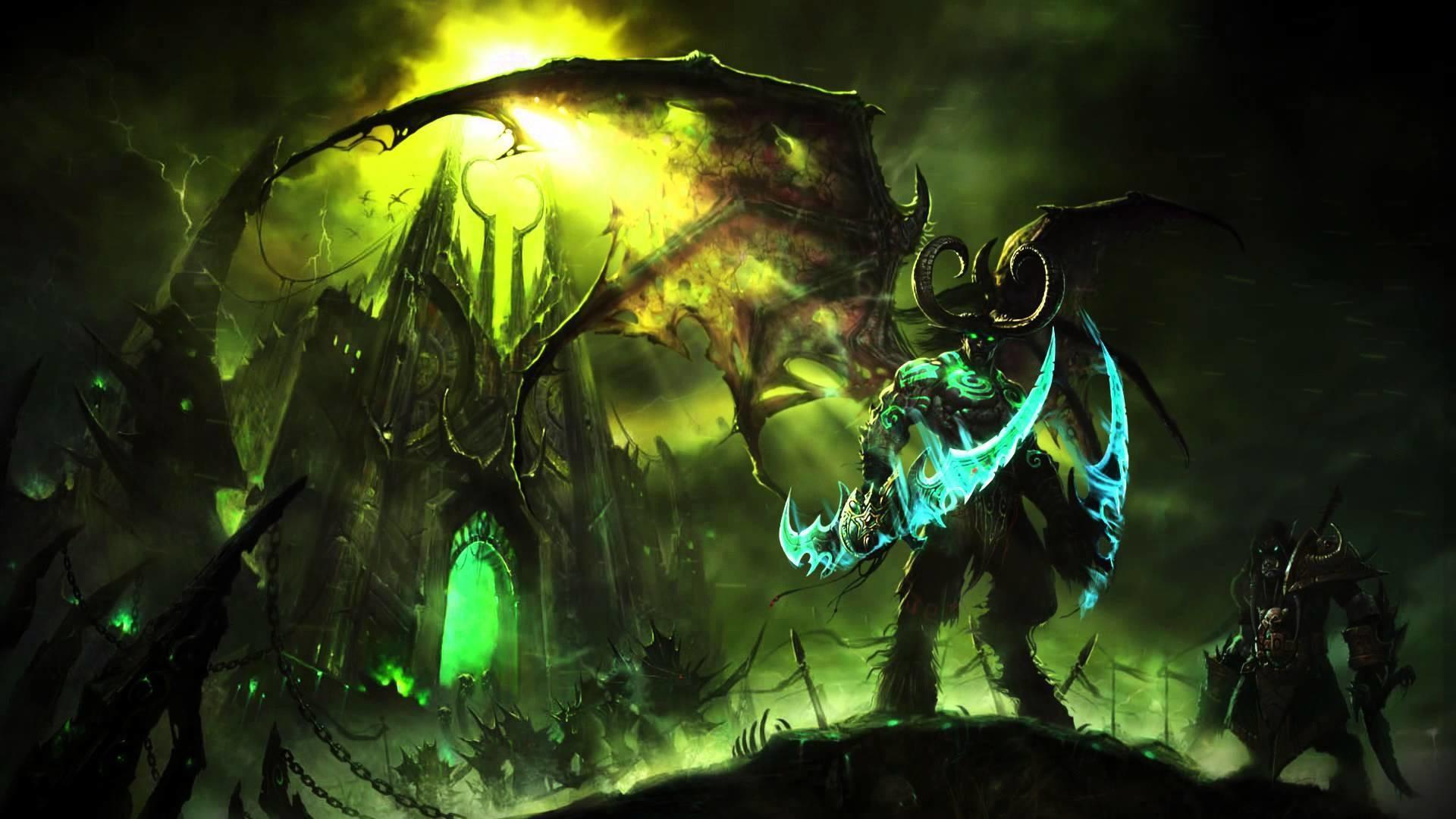 World of Warcraft: Legion Full HD Wallpaper 1920×1080