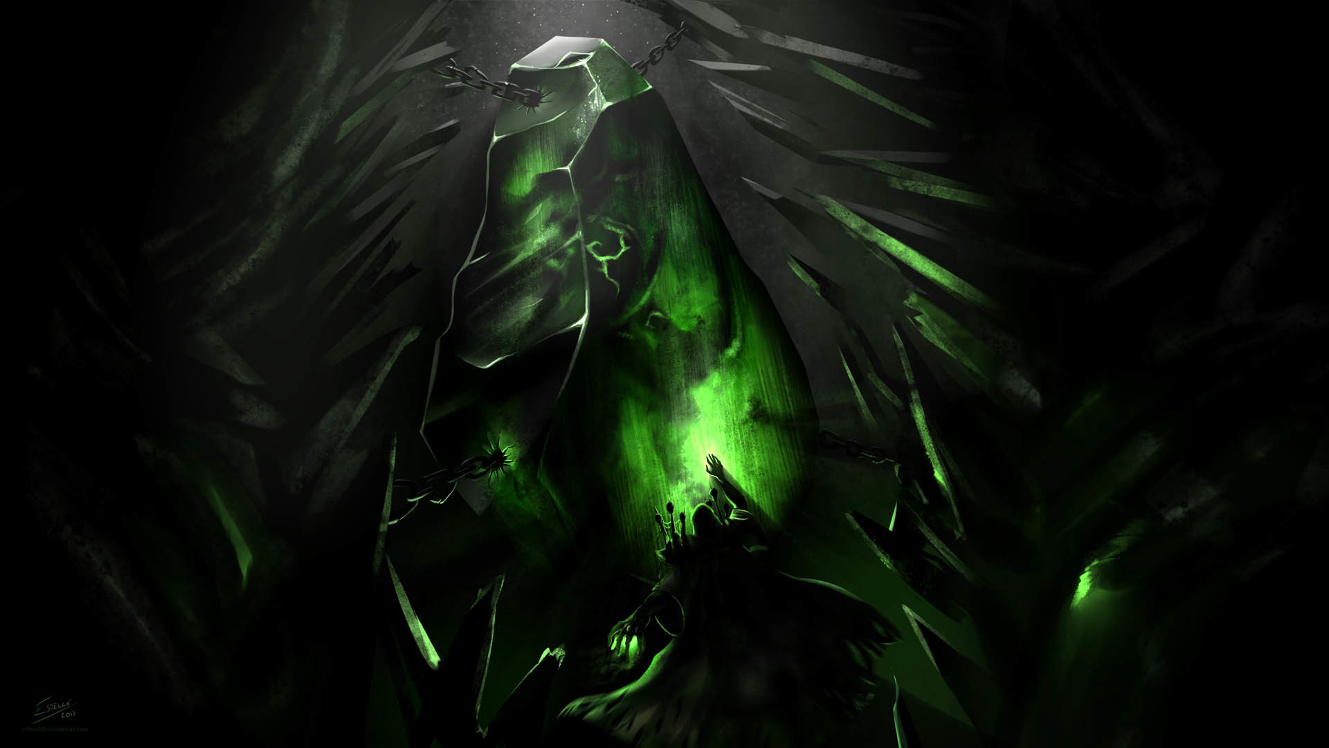 World of Warcraft Legion Artwork wallpaper