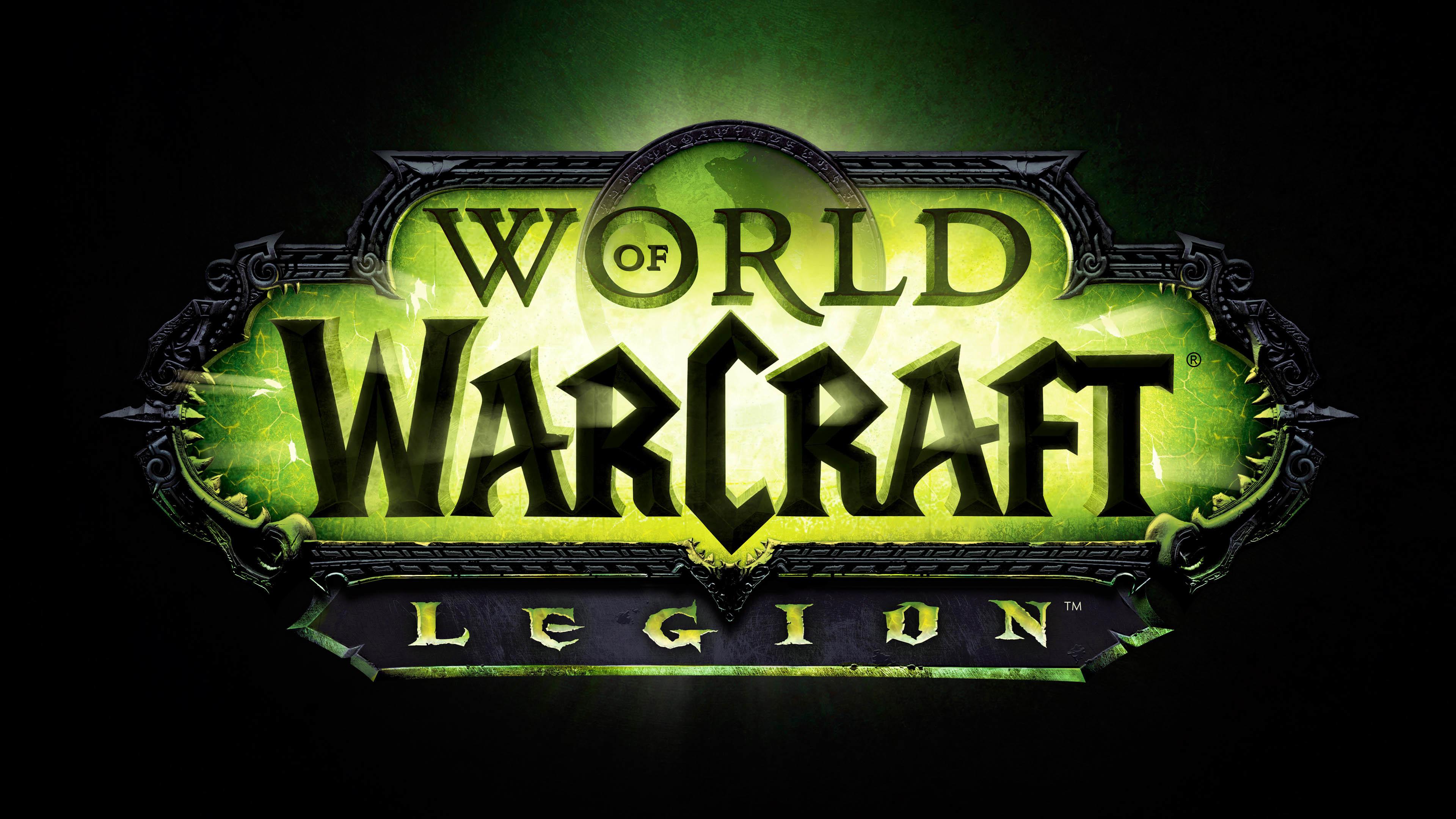 World of Warcraft Legion Logo wallpaper