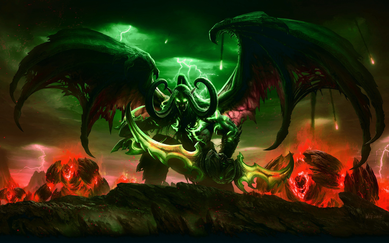 Download World of Warcraft Legion wallpaper
