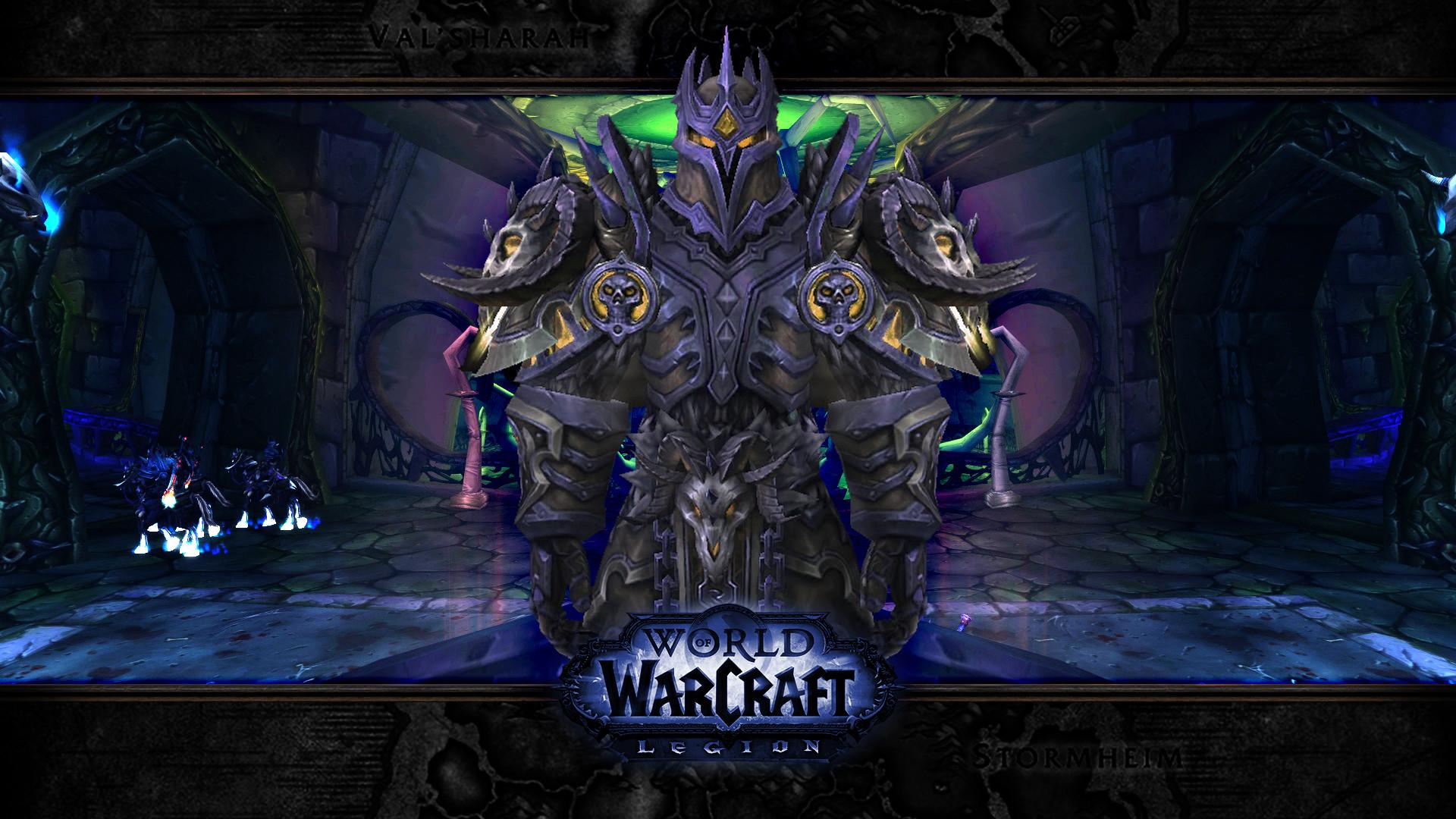 Wow Legion DeathKnight by mikeyxpat Wow Legion DeathKnight by mikeyxpat