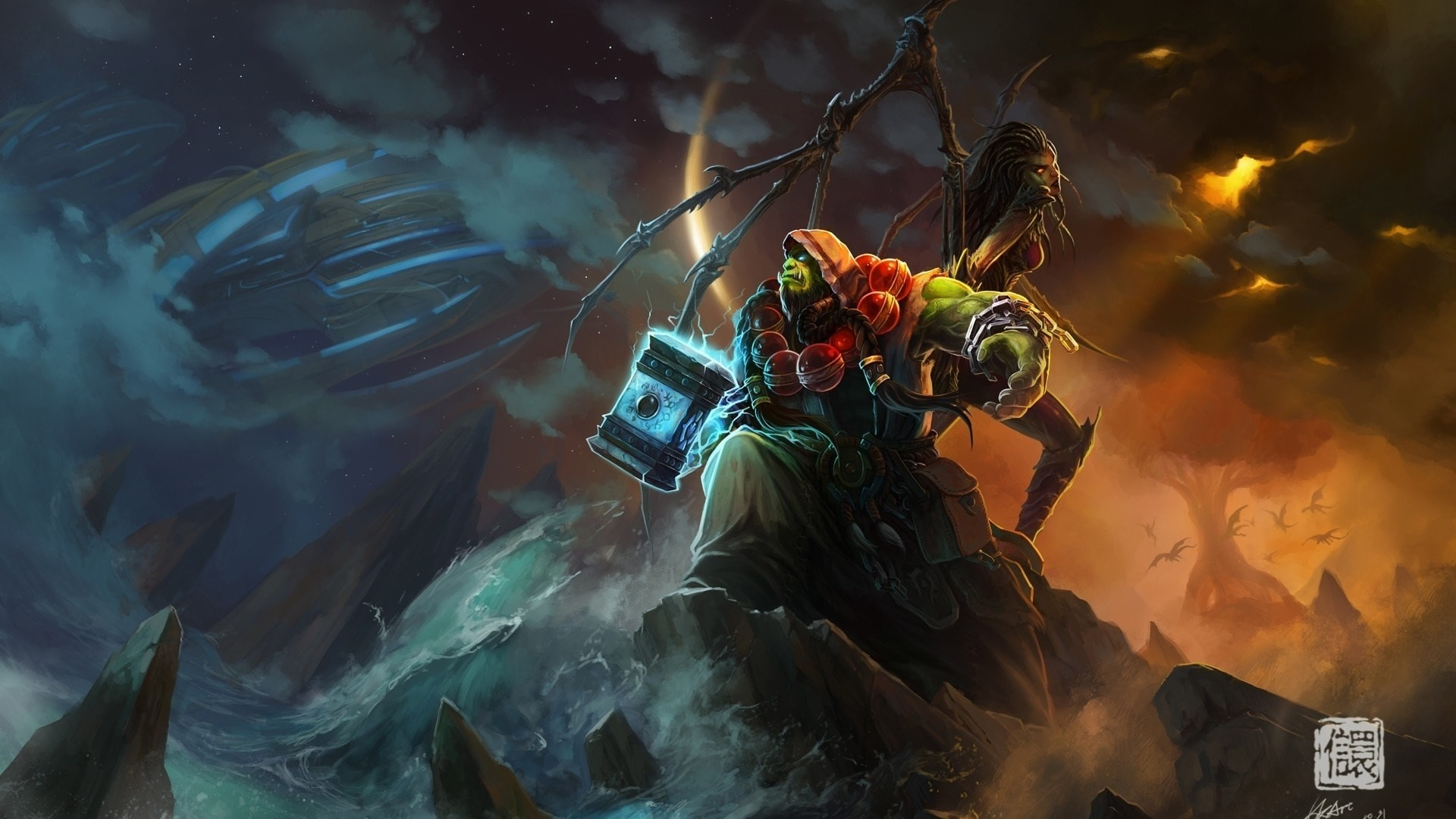 WOW: Thrall Wallpapers