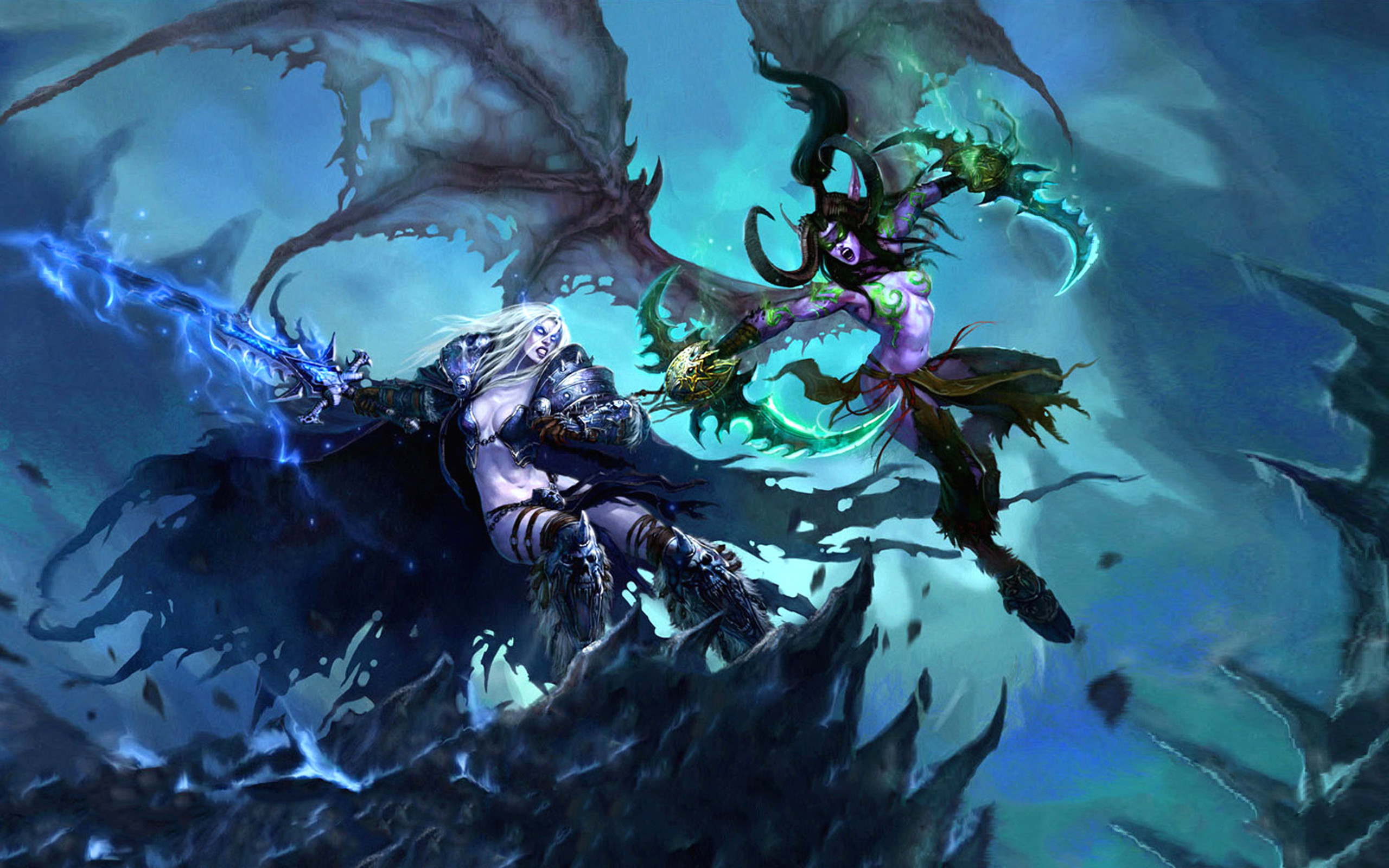 World Of Warcraft Warlock Wallpapers Group