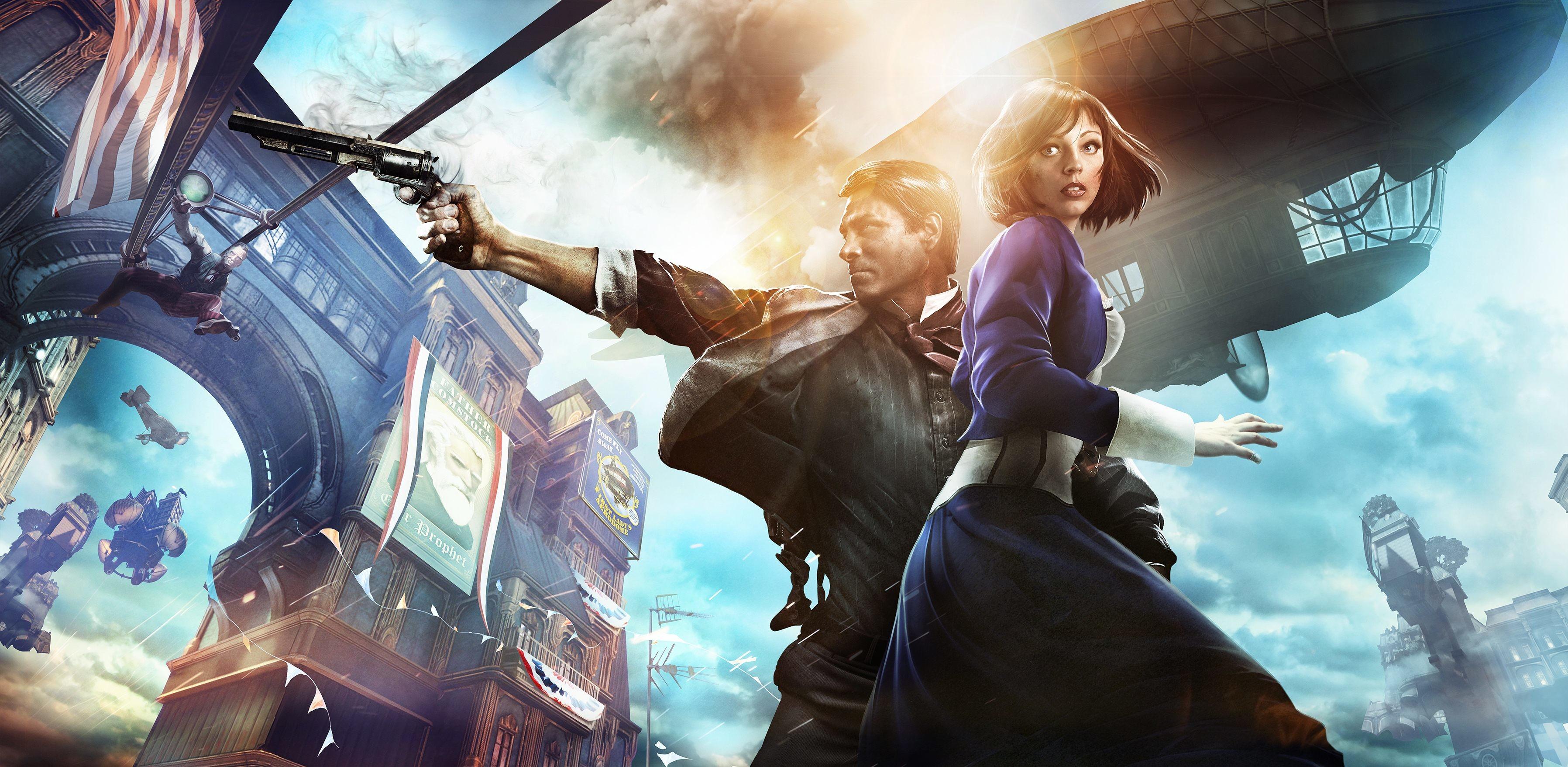 HD Wallpaper | Background ID:338154. Video Game Bioshock Infinite.  29 Like