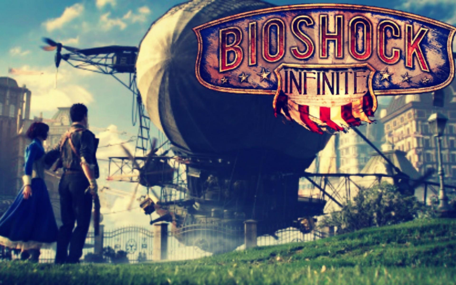Bioshock Infinite Logo Wallpaper