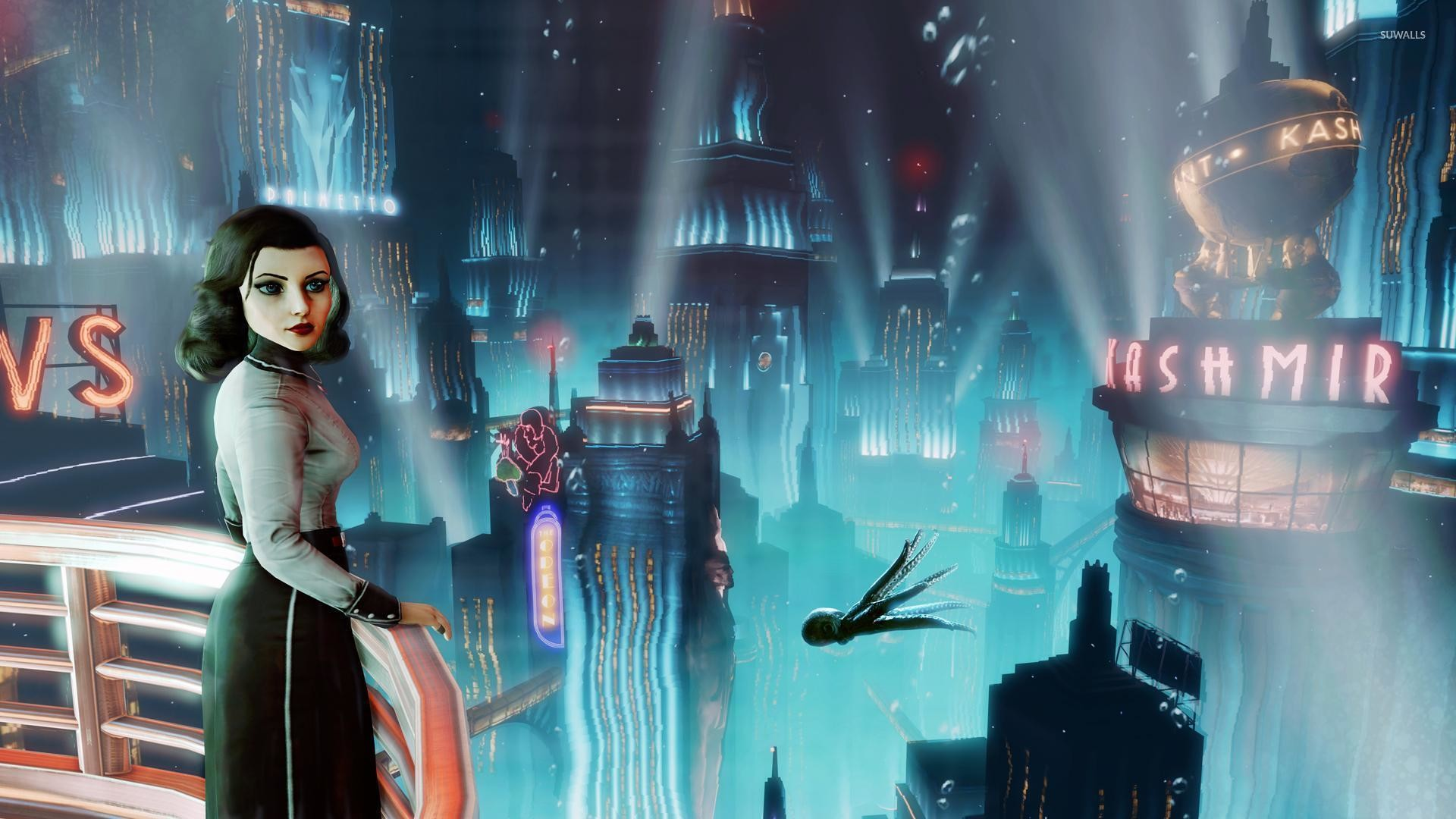 Elizabeth – BioShock Infinite: Burial at Sea [6] wallpaper