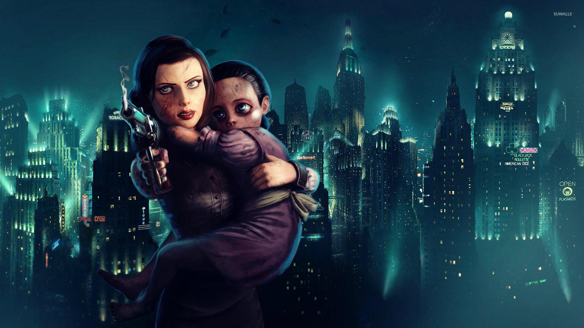 BioShock Infinite: Burial at Sea [3] wallpaper jpg