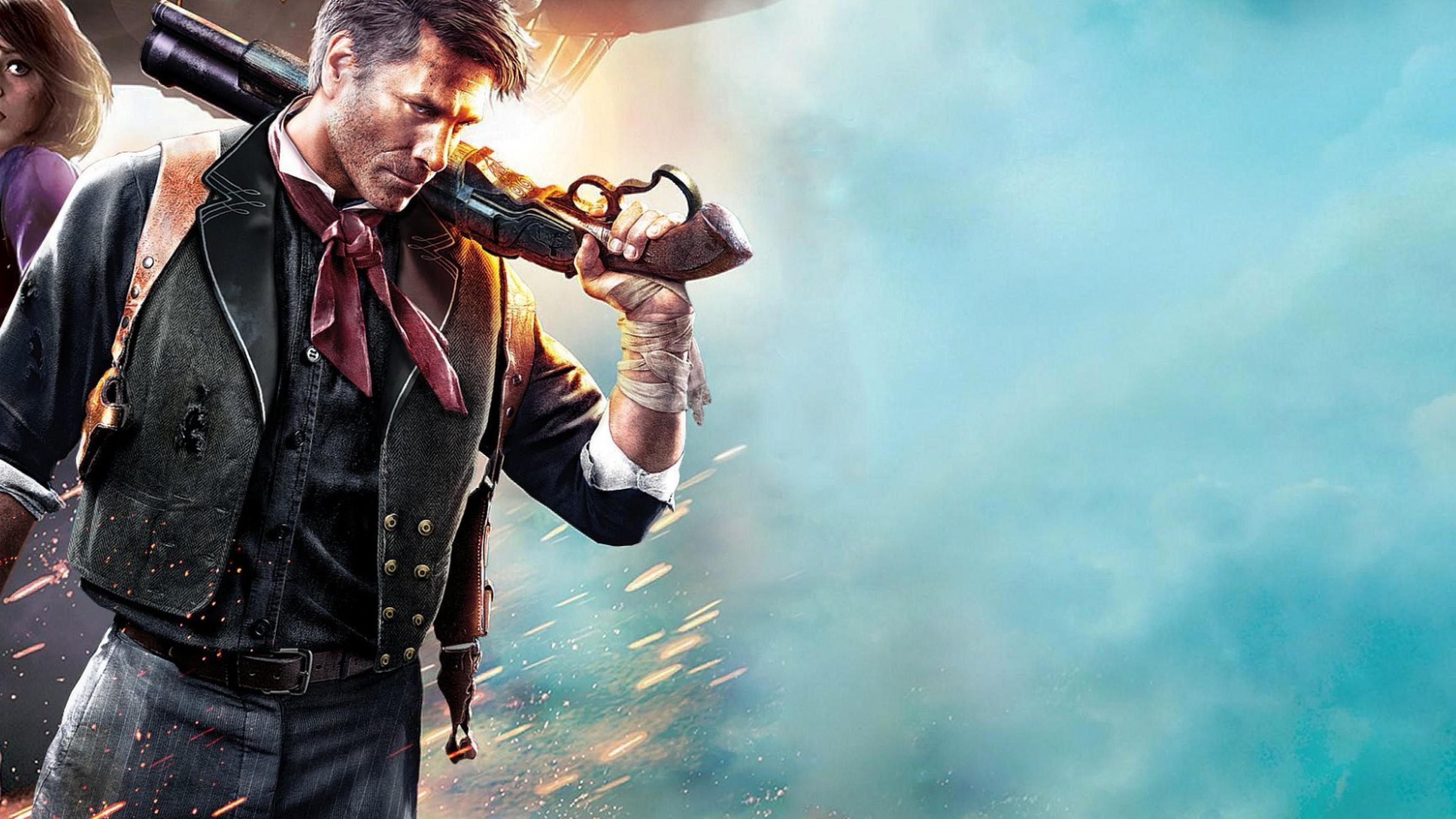 2016 Bioshock Infinite Game 2560×1080 Resolution