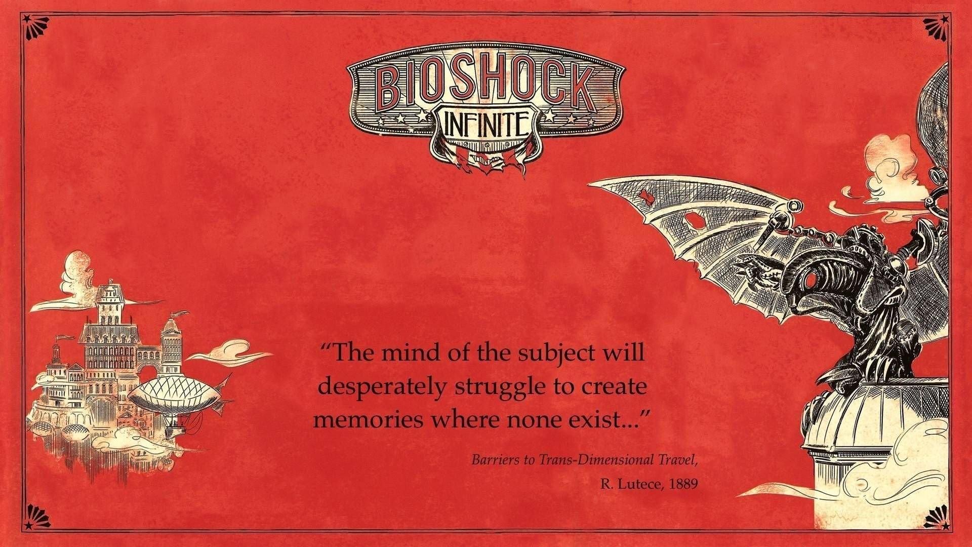 BioShock Infinite Elizabeth Columbia Rapture Songbird Character Video Games