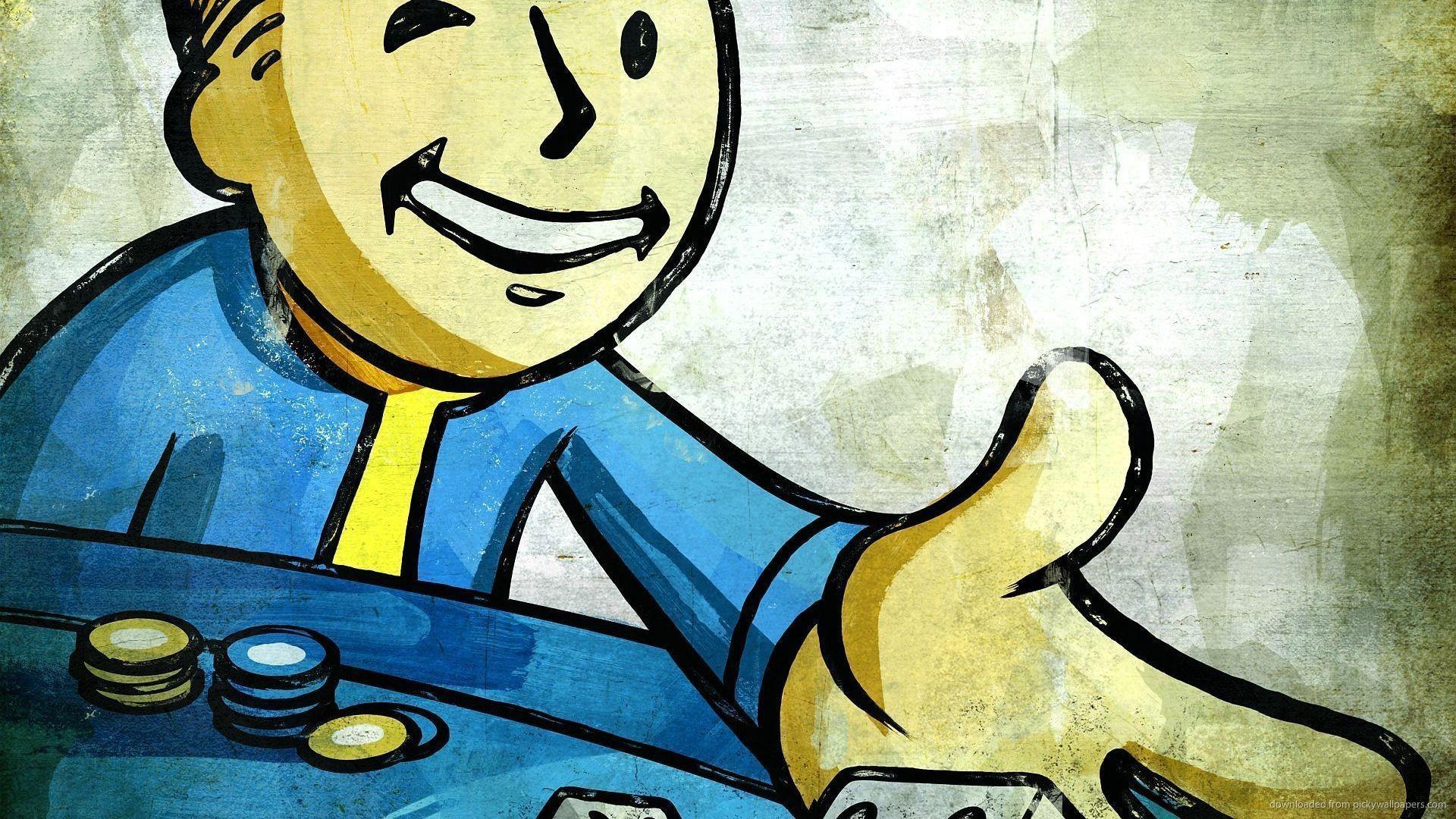 Download Fallout Gambling Wallpaper