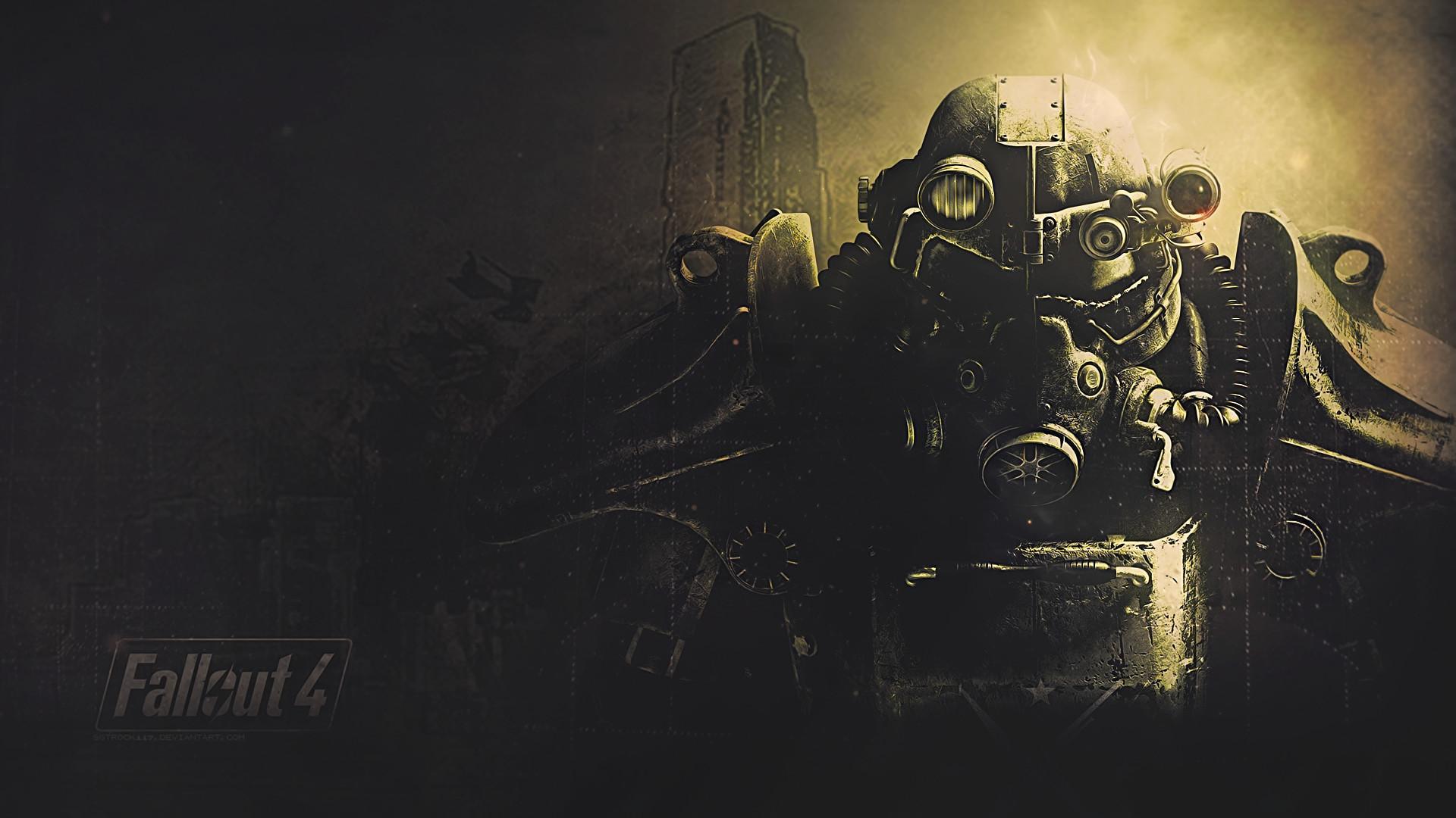 Fallout 4, Fan art, Power armor, Fallout Wallpaper HD