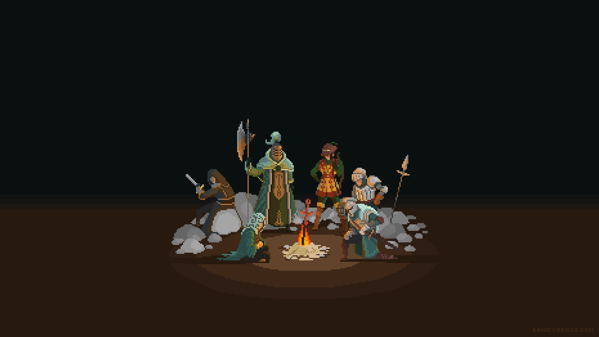 Dark Souls 3 Animated Background