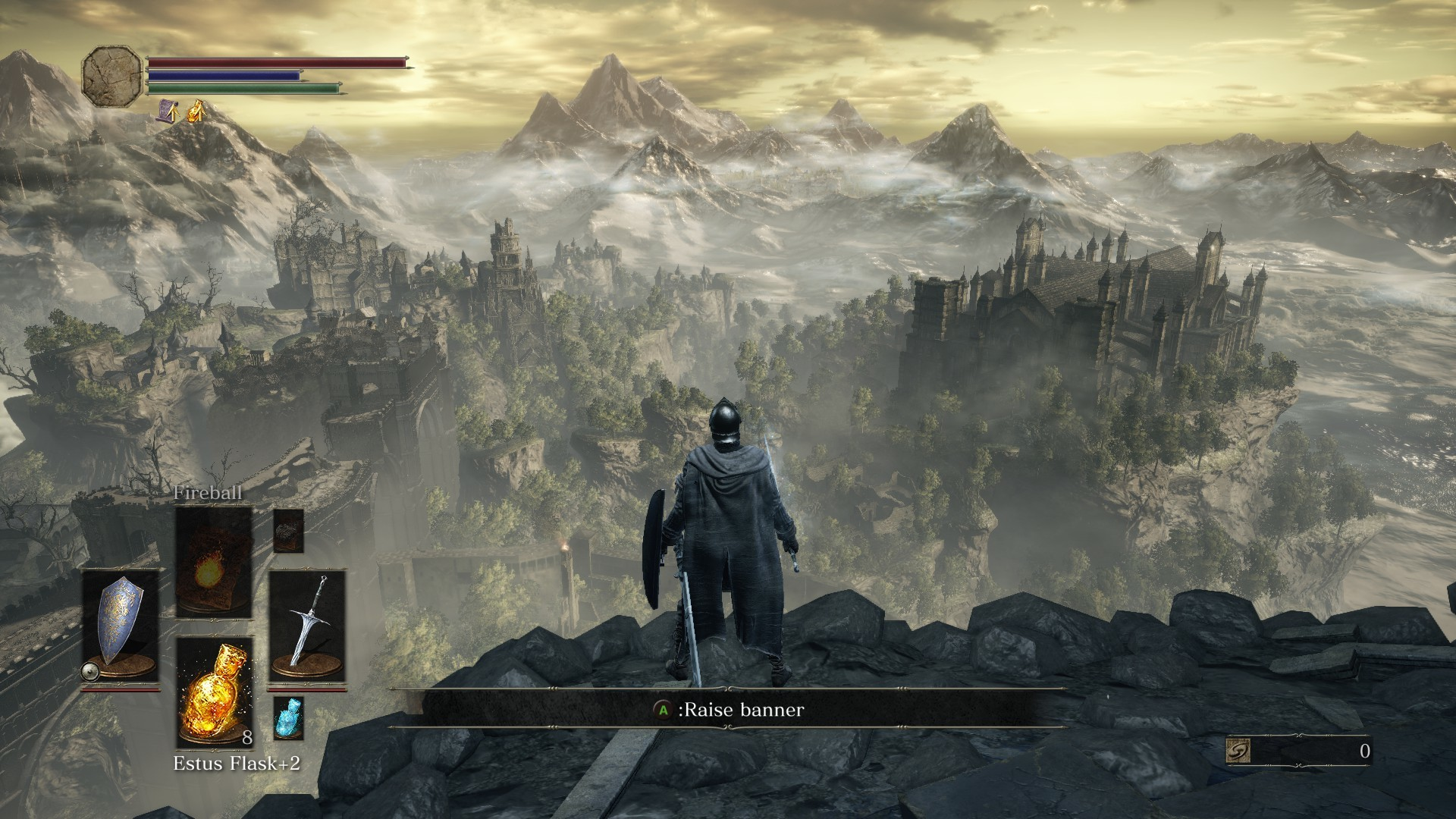 Dark Souls III does a terrific job with scale and providing beautiful vistas