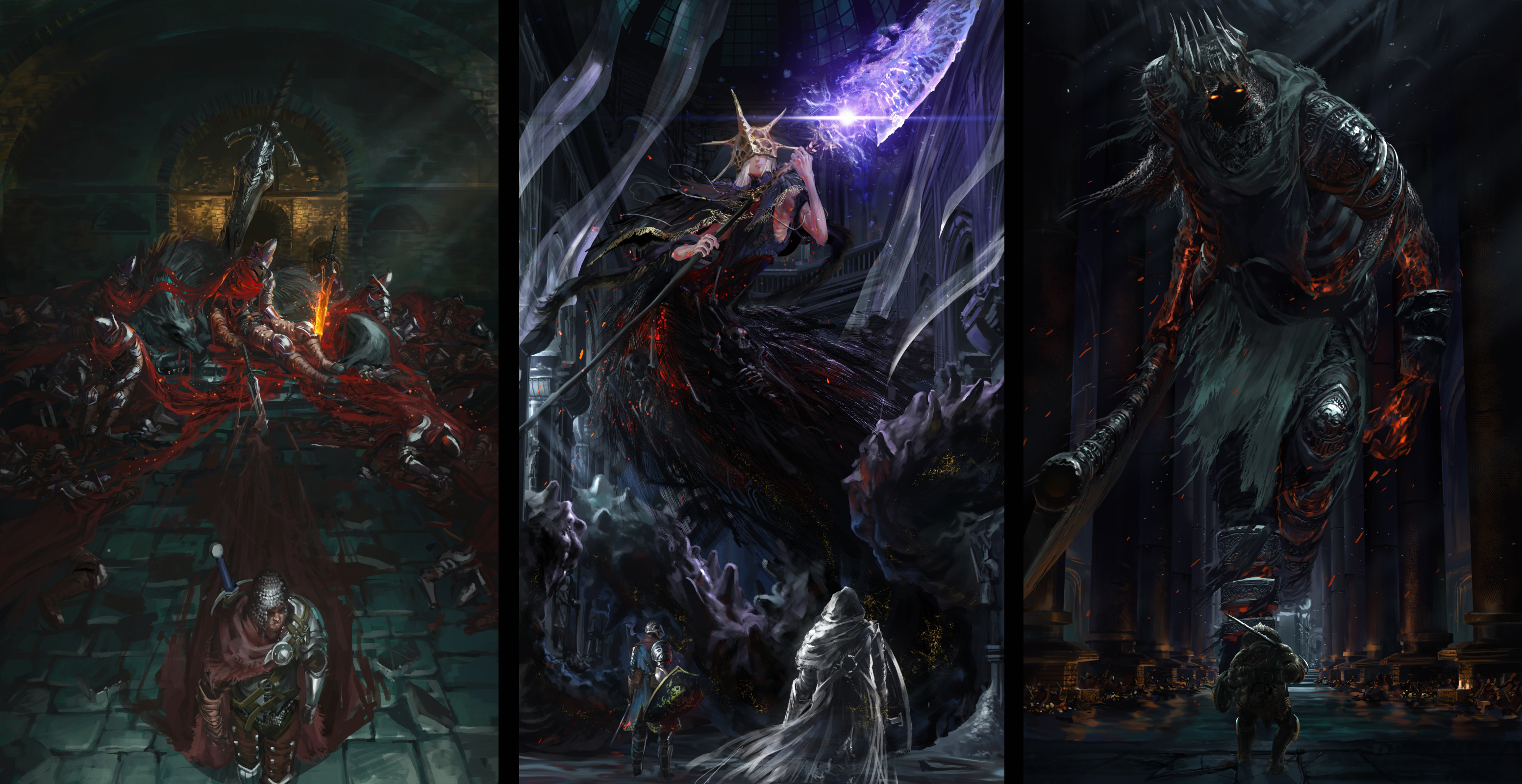 Dark souls 3 – The lords of cinder by Ishutani