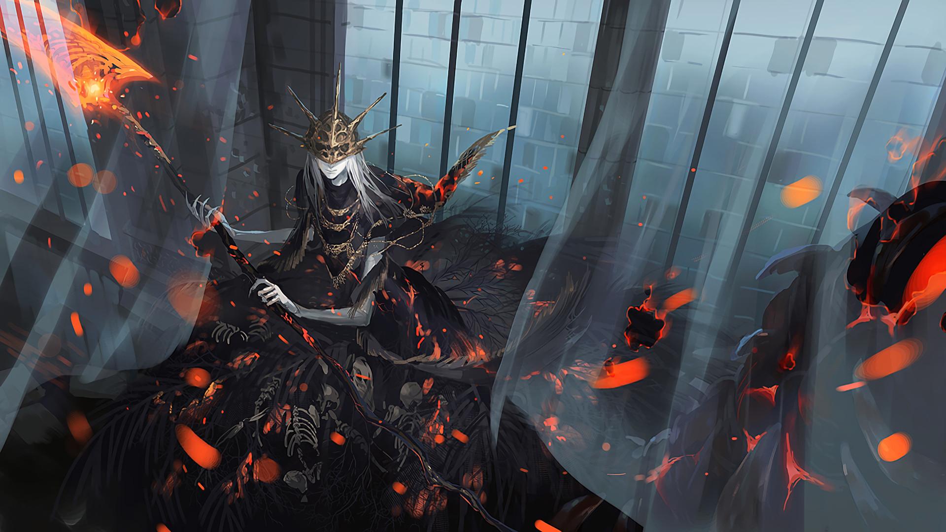Dark Souls and Bloodborne wallpaper dump (Spoilers ahead)