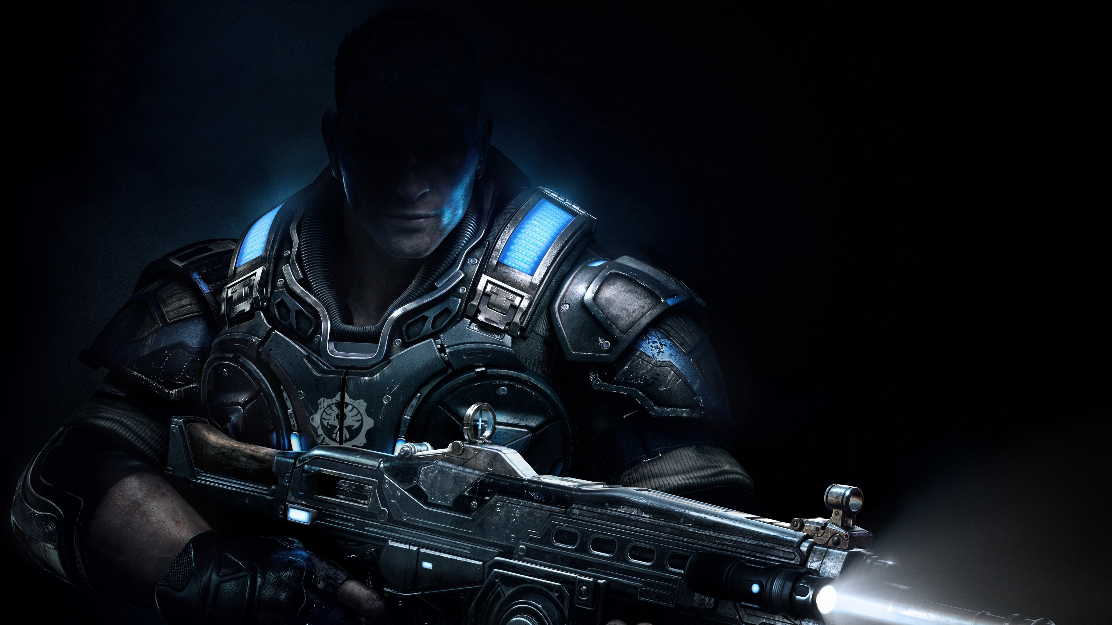The 2nd 4K wallpaper is from Gears of War 4 and ready for set up in your  tablets and desktop screens