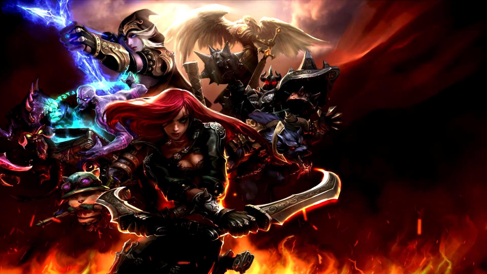 League of Legends Dynamic Wallpaper HD 1080