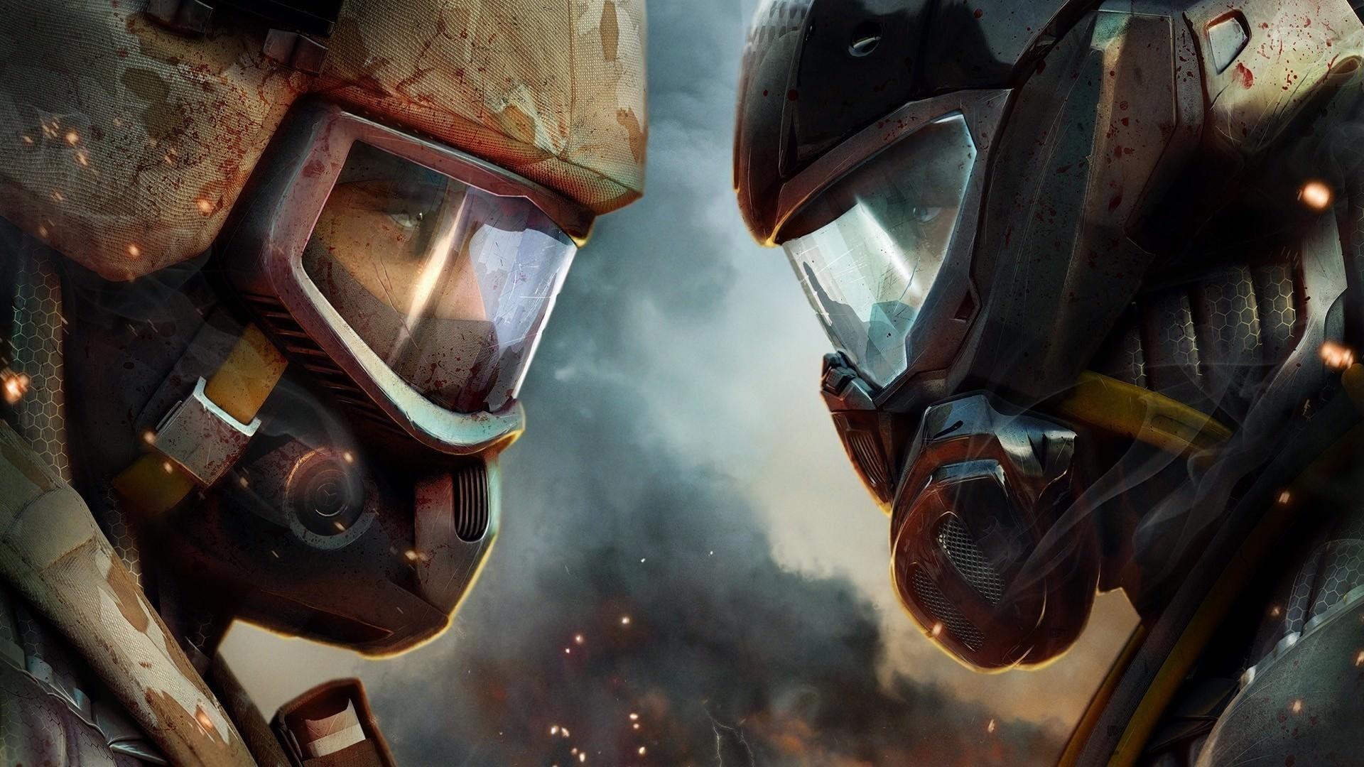 Crysis 2 Game versus War Wallpaper