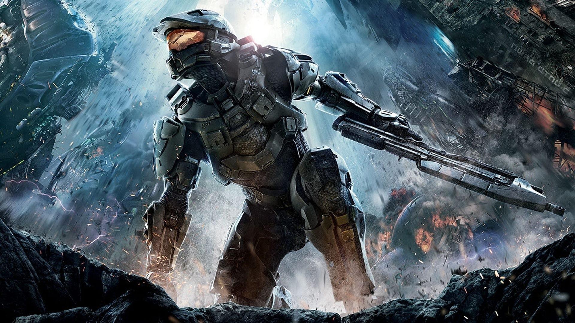 Halo Wallpaper HD by ockre on DeviantArt Halo 4 Wallpapers HD Wallpapers)