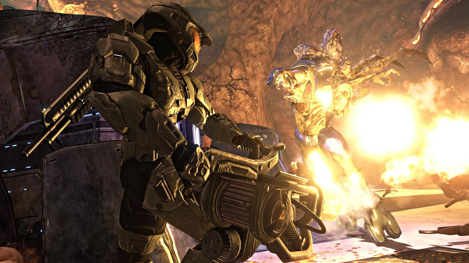 Image – Halo-3-Wallpaper-CORTANA-chapter-1080p-16-MASTER-CHIEF-FLAMETHROWER.jpg  | Deadliest Fiction Wiki | FANDOM powered by Wikia