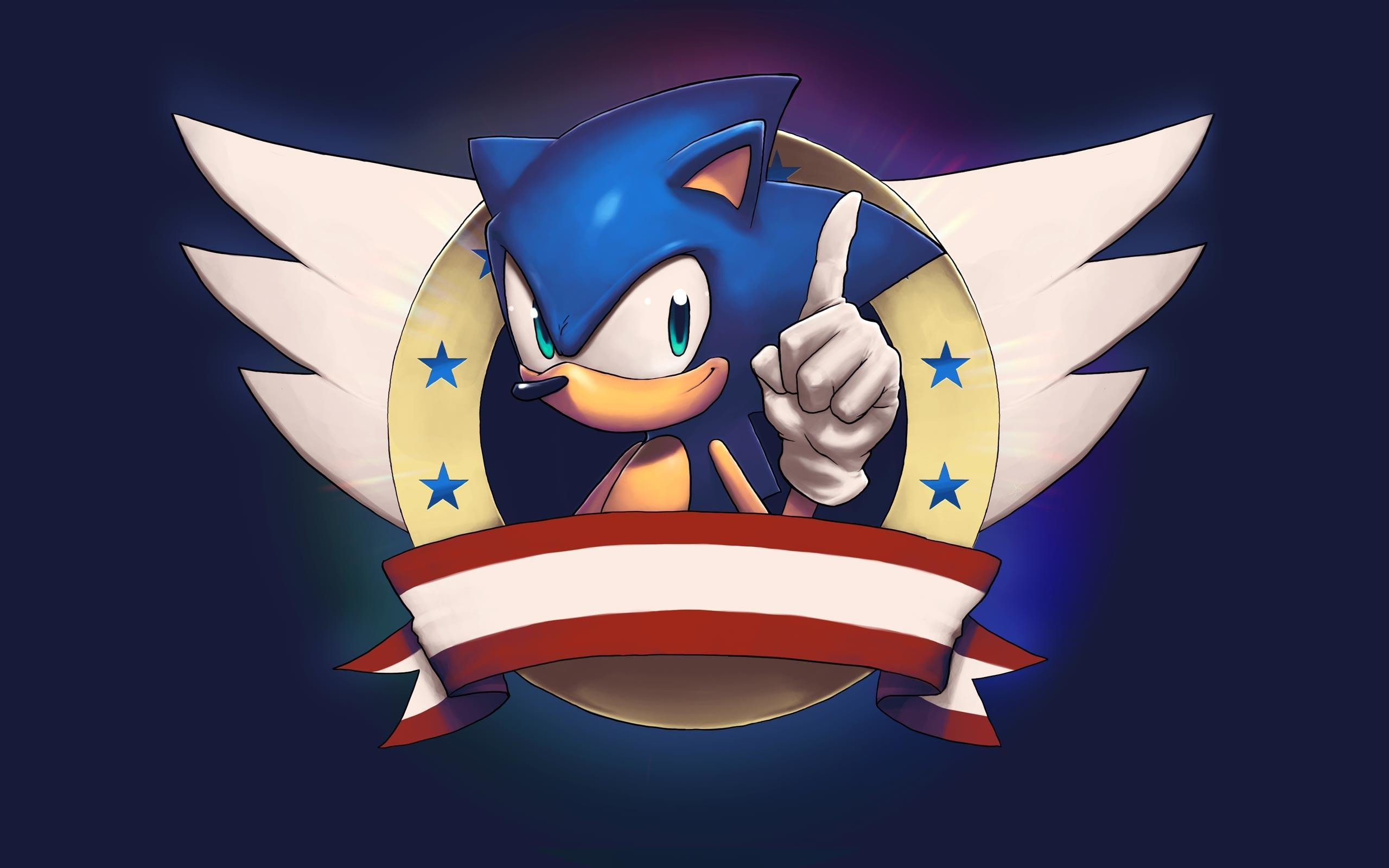 Wallpapers For > Classic Sonic The Hedgehog Wallpaper Hd