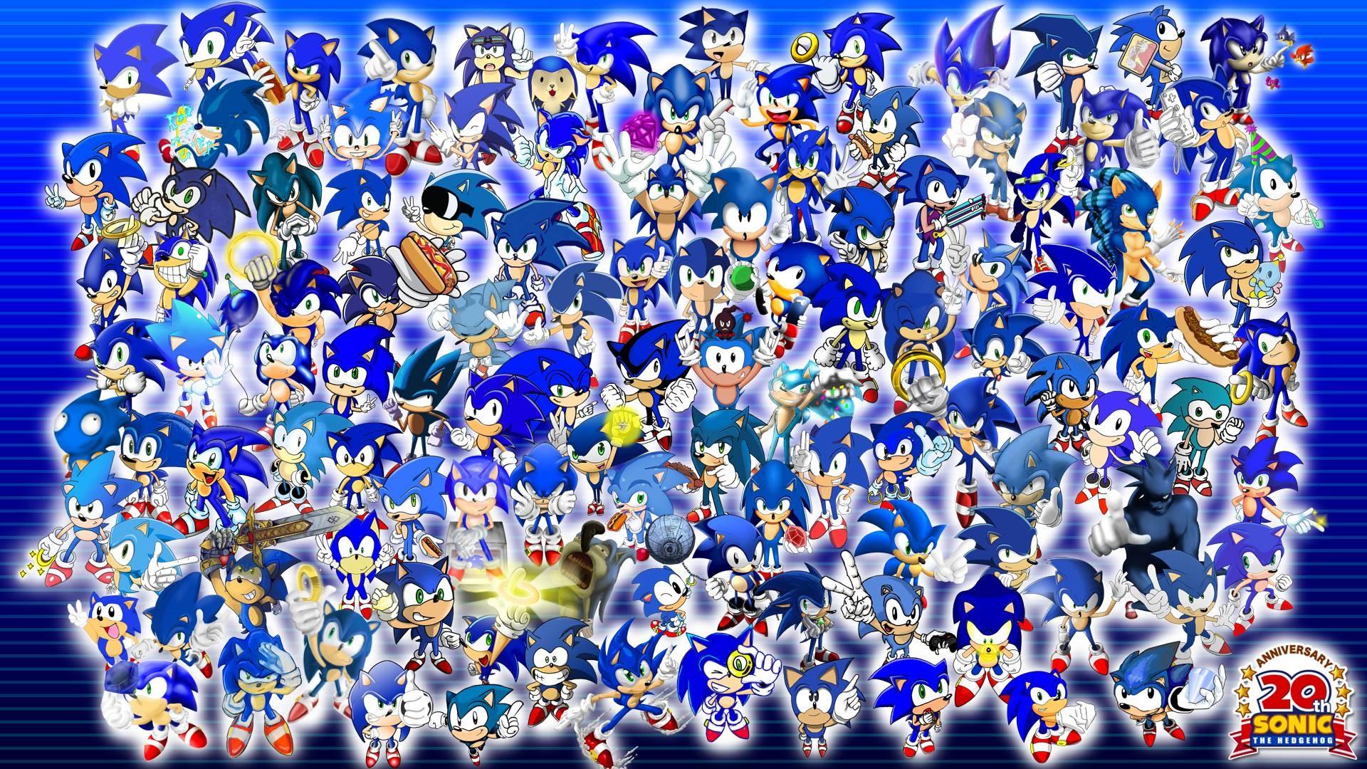 Project 20 Sonic Wallpaper – Sonic the Hedgehog Wallpaper .