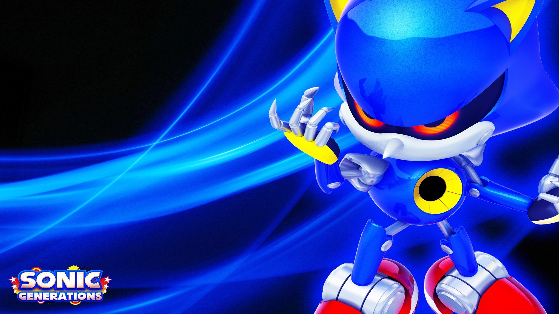 Video Game – Sonic Generations Metal Sonic Wallpaper