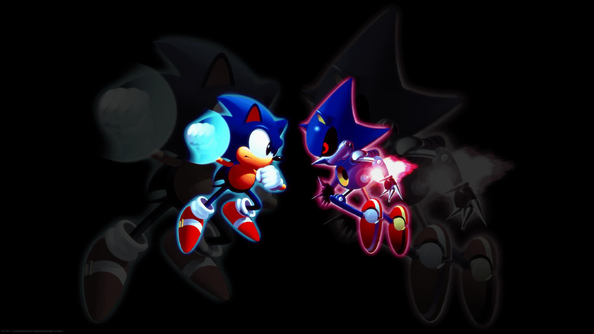 Sonic Vs. Metal Sonic by DarkShdw91 on DeviantArt