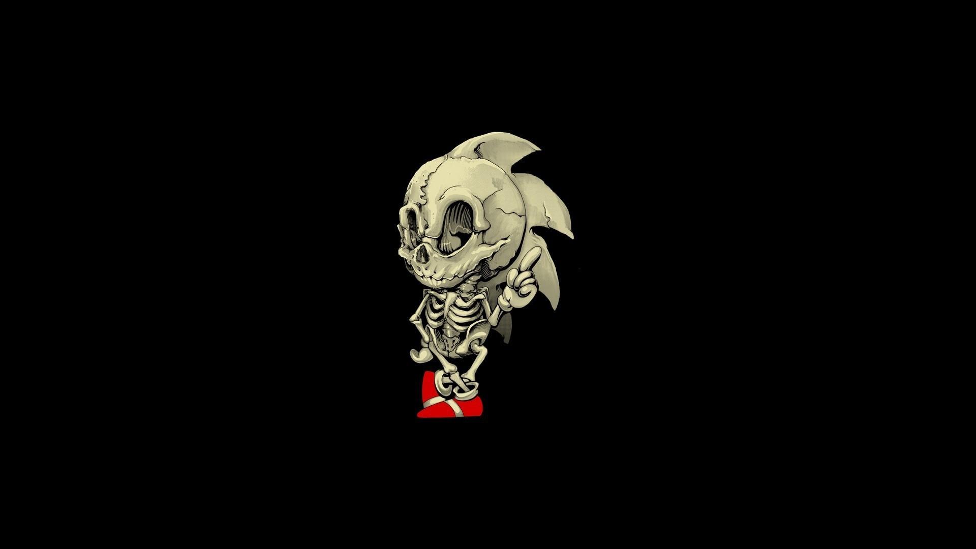 Skeleton game hero Sonic